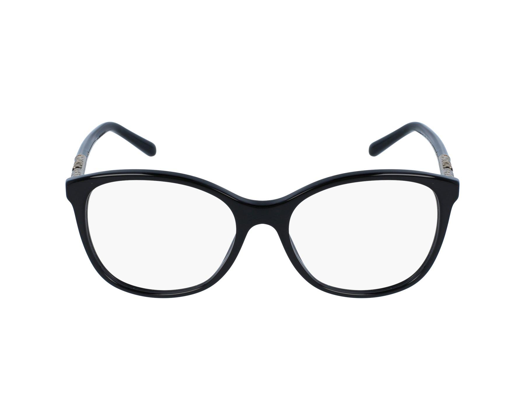 7233c02824 Lunettes de vue Burberry BE-2245 3001 52-17 Noir Or vue de profil