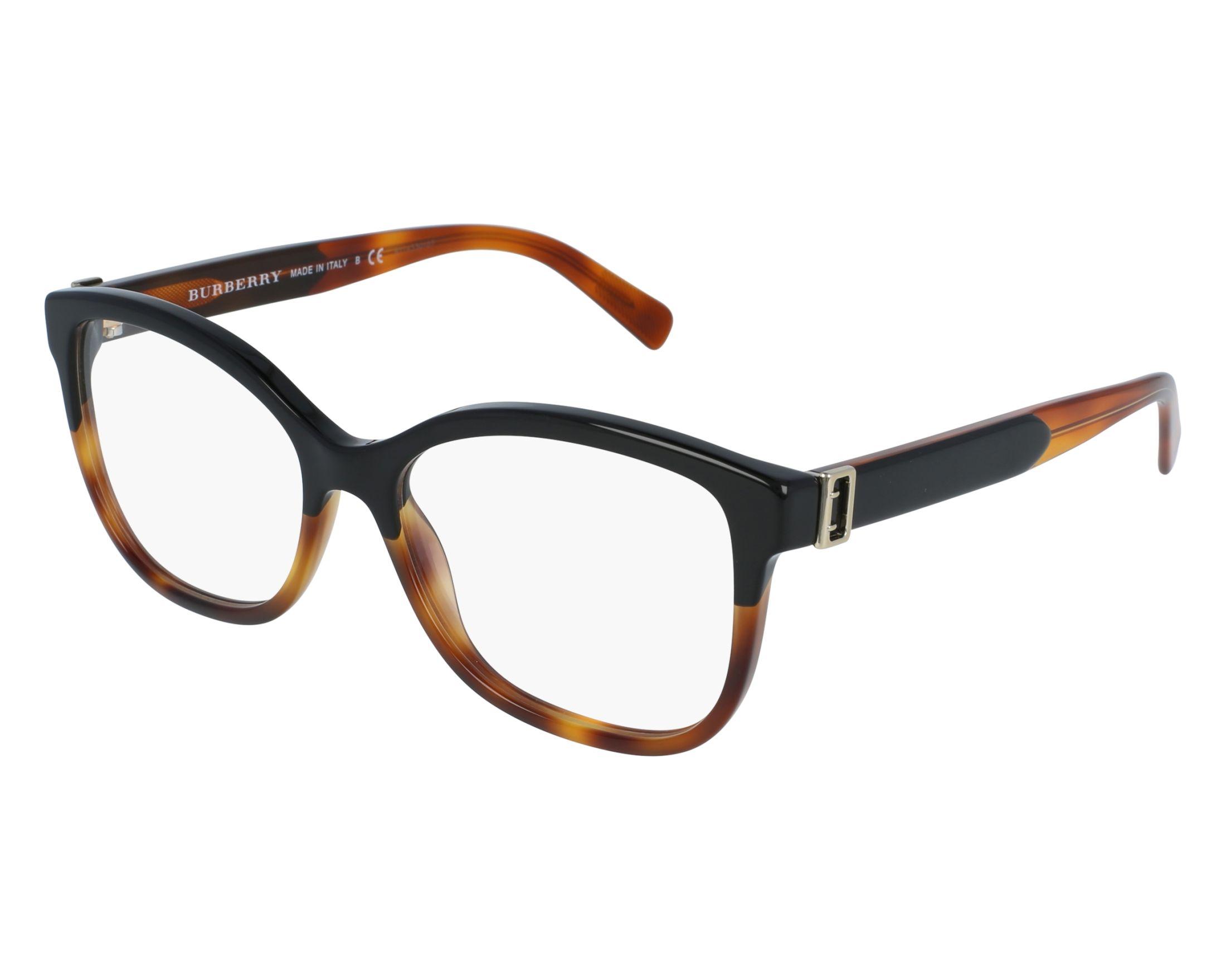 Burberry Eyeglasses BE-2252 3632 Black