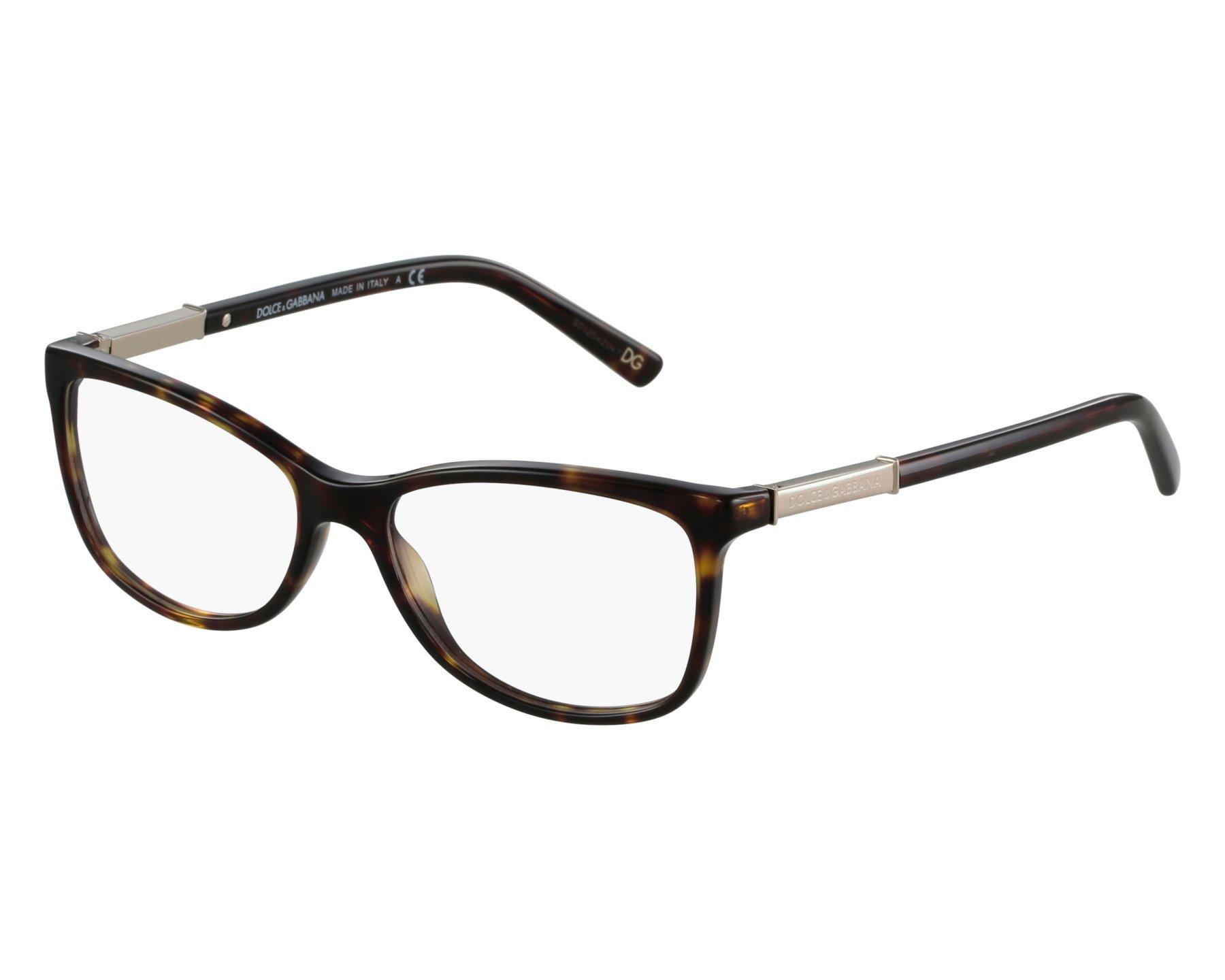 lunettes de vue dolce gabbana dg 3107 502 havane. Black Bedroom Furniture Sets. Home Design Ideas