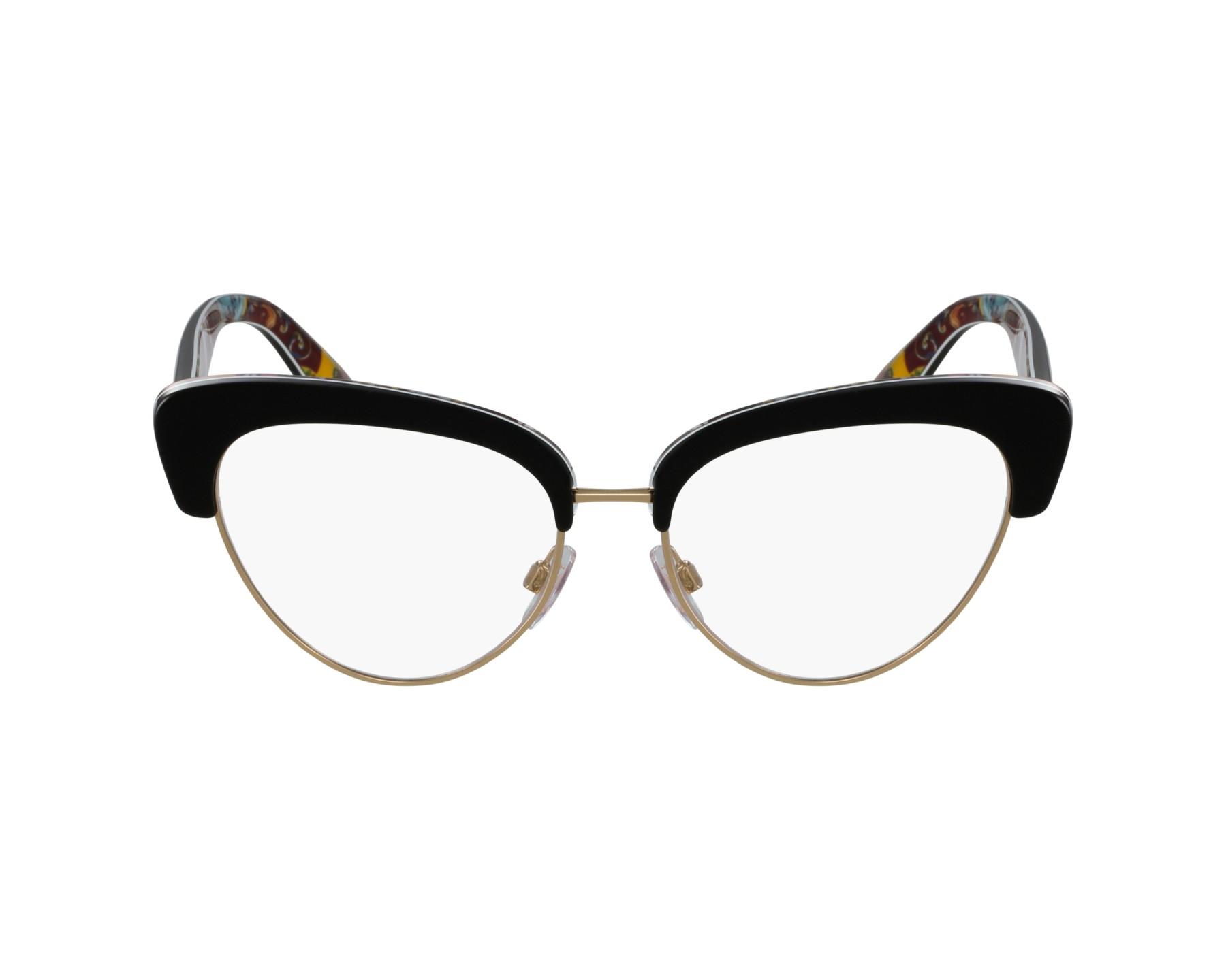 lunettes de vue dolce gabbana dg 3247 3033 noir. Black Bedroom Furniture Sets. Home Design Ideas