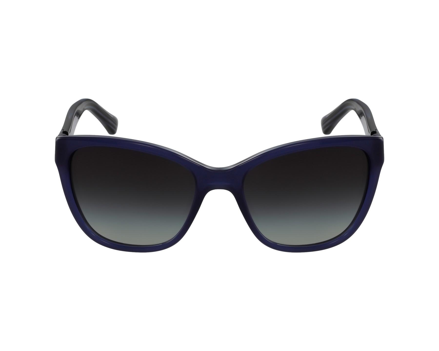 Lunettes de soleil emporio armani ea 4068 5518 8g bleu avec des verres gris - Verre lunette raye assurance ...