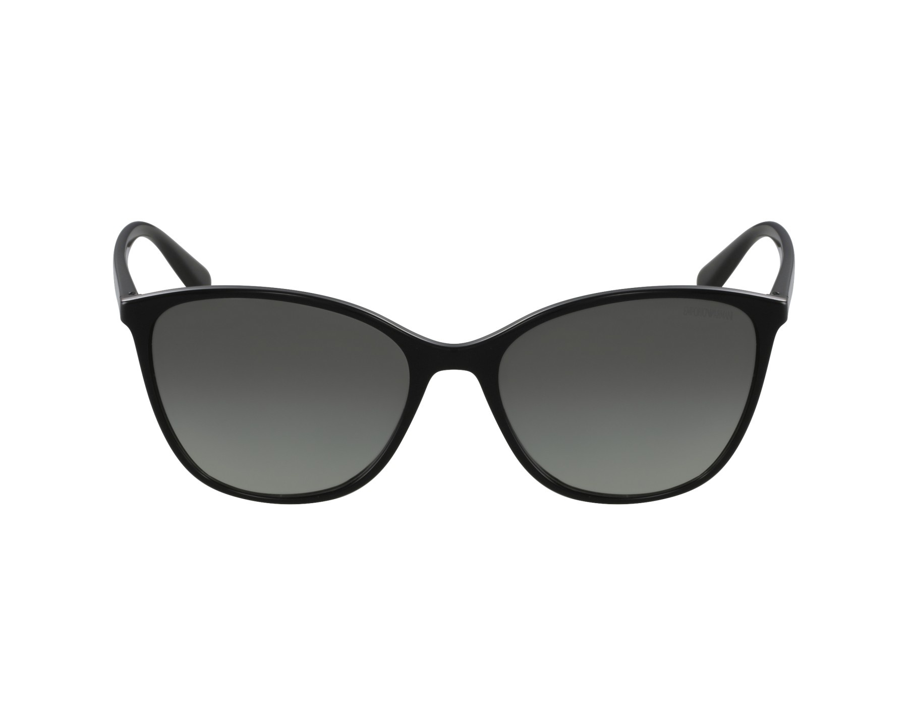 b21fec3b4f Lunettes de soleil Emporio Armani EA-4073 5017/11 - Noir vue de profil