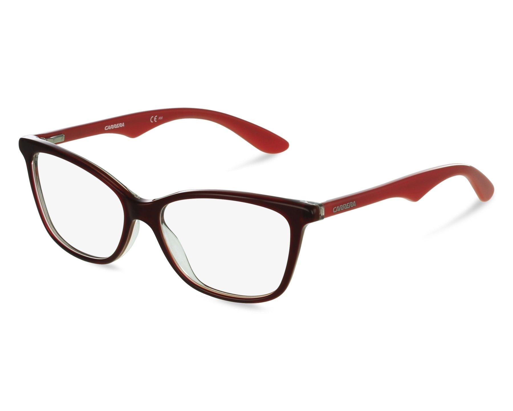 Lunettes de vue Carrera CA-6618 ORB - Bordeaux Rouge vue de face e697d43d44fb