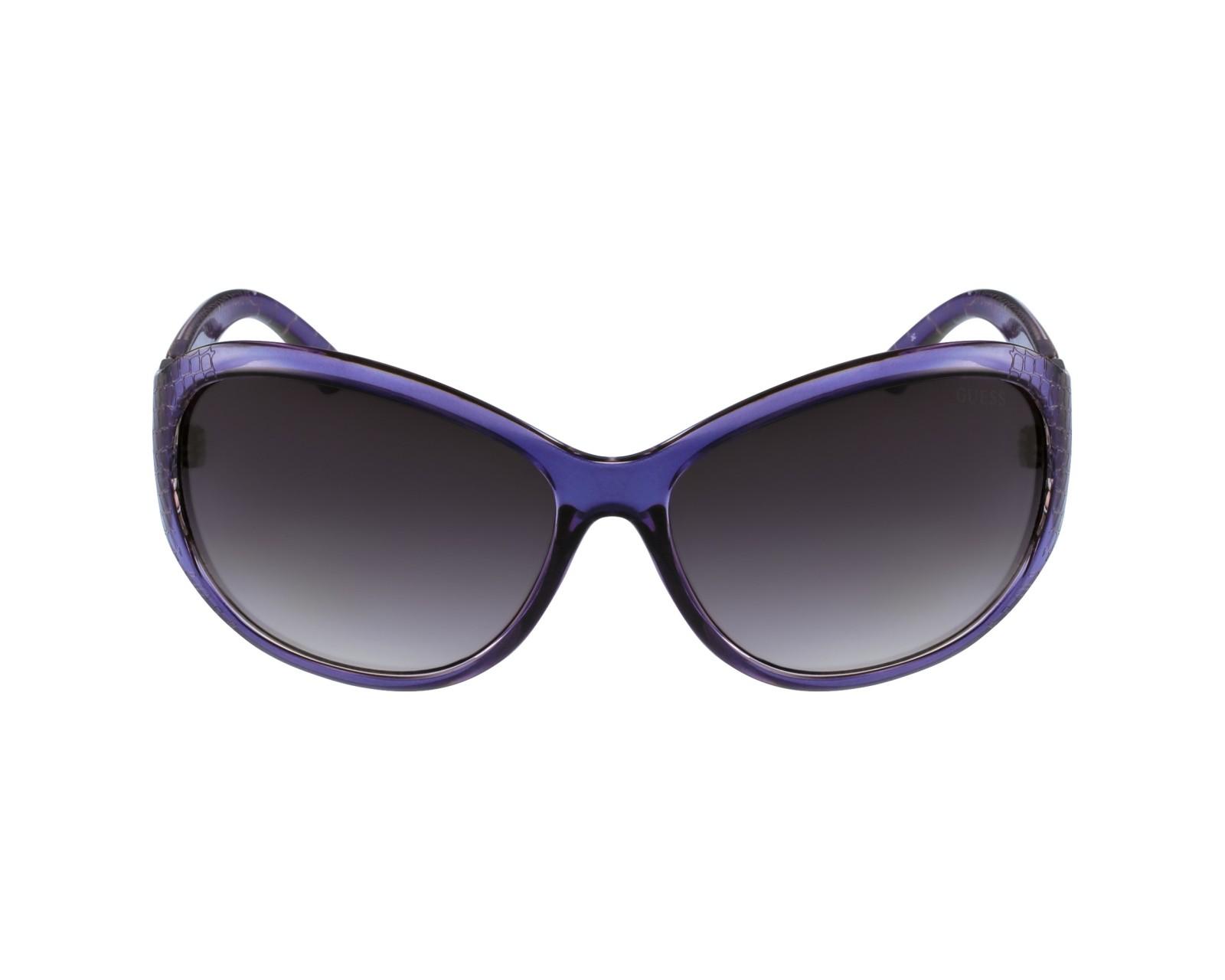 lunettes de soleil guess gu 7309 bl 35 bleu avec des verres gris. Black Bedroom Furniture Sets. Home Design Ideas