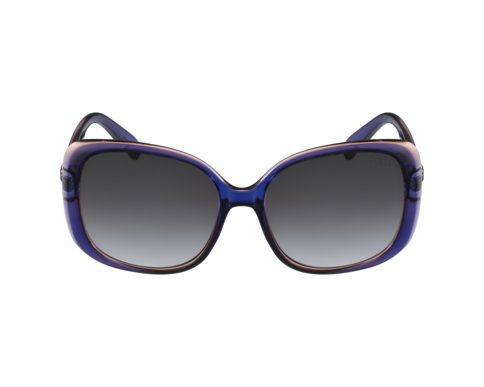 achetez des lunettes de soleil guess gu 7314 bleu pas cher. Black Bedroom Furniture Sets. Home Design Ideas