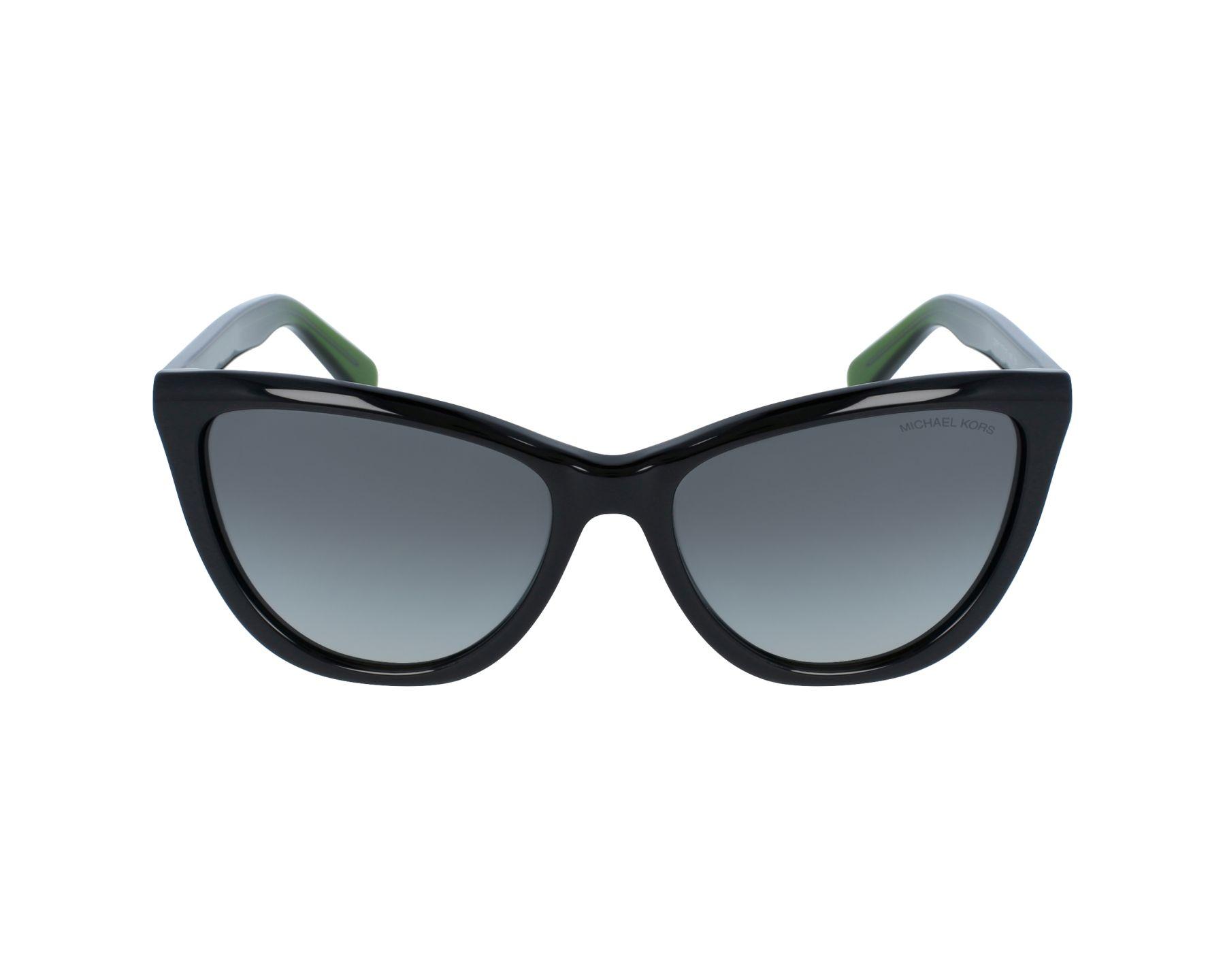 lunettes de soleil michael kors mk 2040 321611 noir avec des verres gris. Black Bedroom Furniture Sets. Home Design Ideas