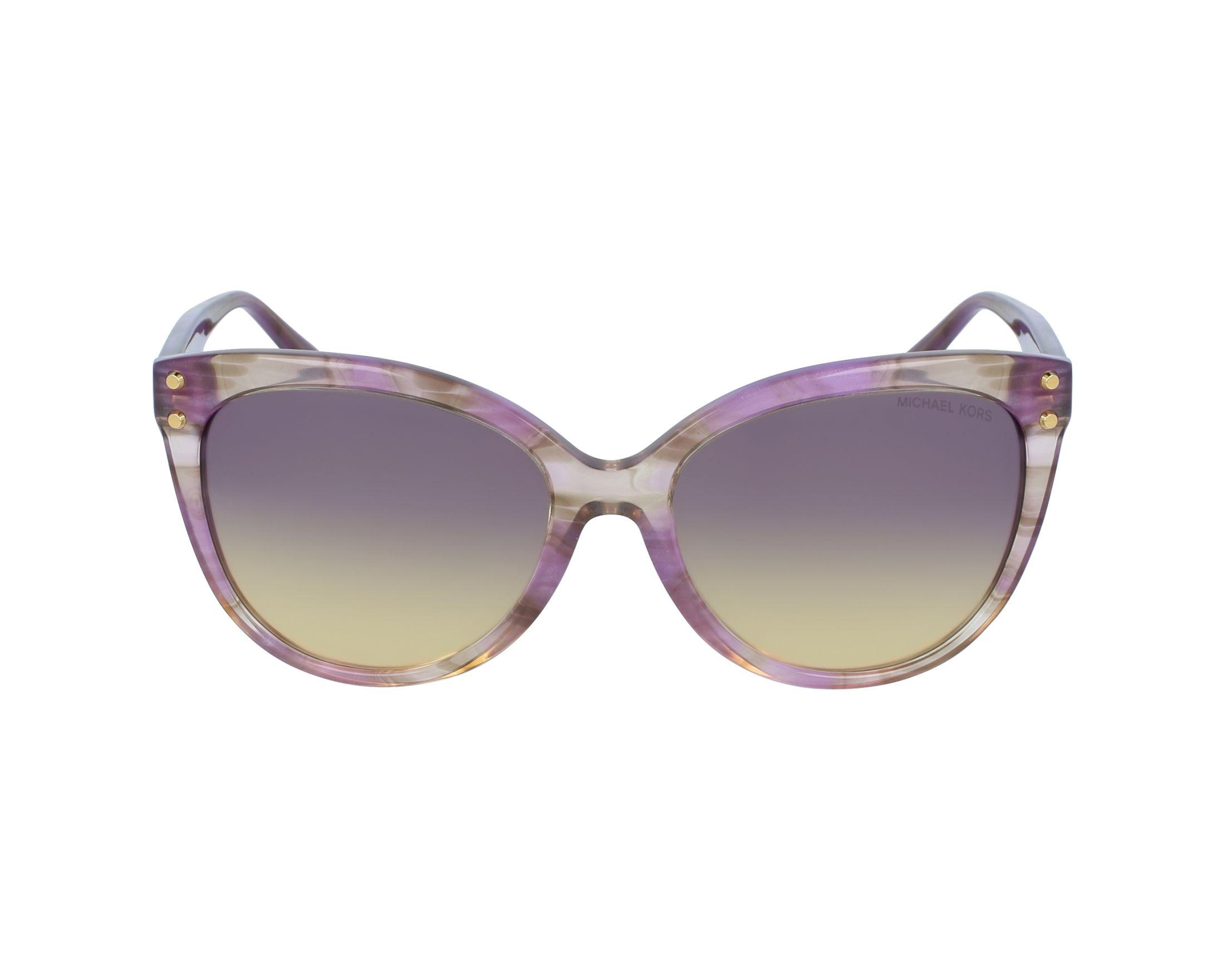 a06878f6ab2433 Lunettes de soleil Michael Kors MK-2045 323370 55-16 Violet vue de profil