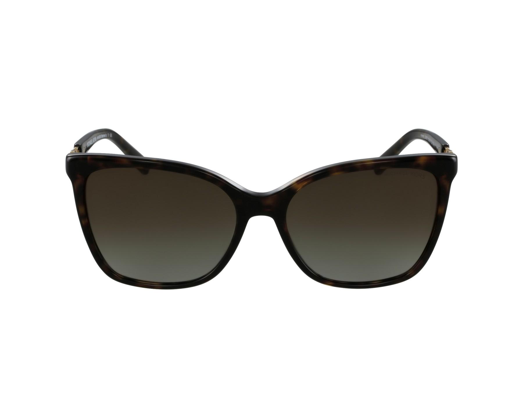 lunettes de soleil michael kors mk 6029 3106t5 havane avec des verres marron. Black Bedroom Furniture Sets. Home Design Ideas
