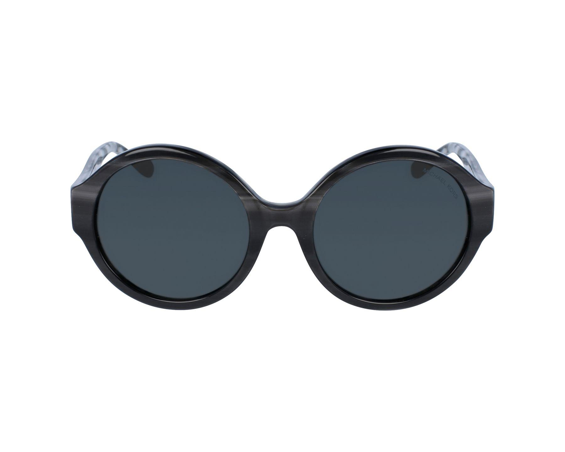 lunettes de soleil michael kors mk 2035 321187 noir avec des verres gris. Black Bedroom Furniture Sets. Home Design Ideas
