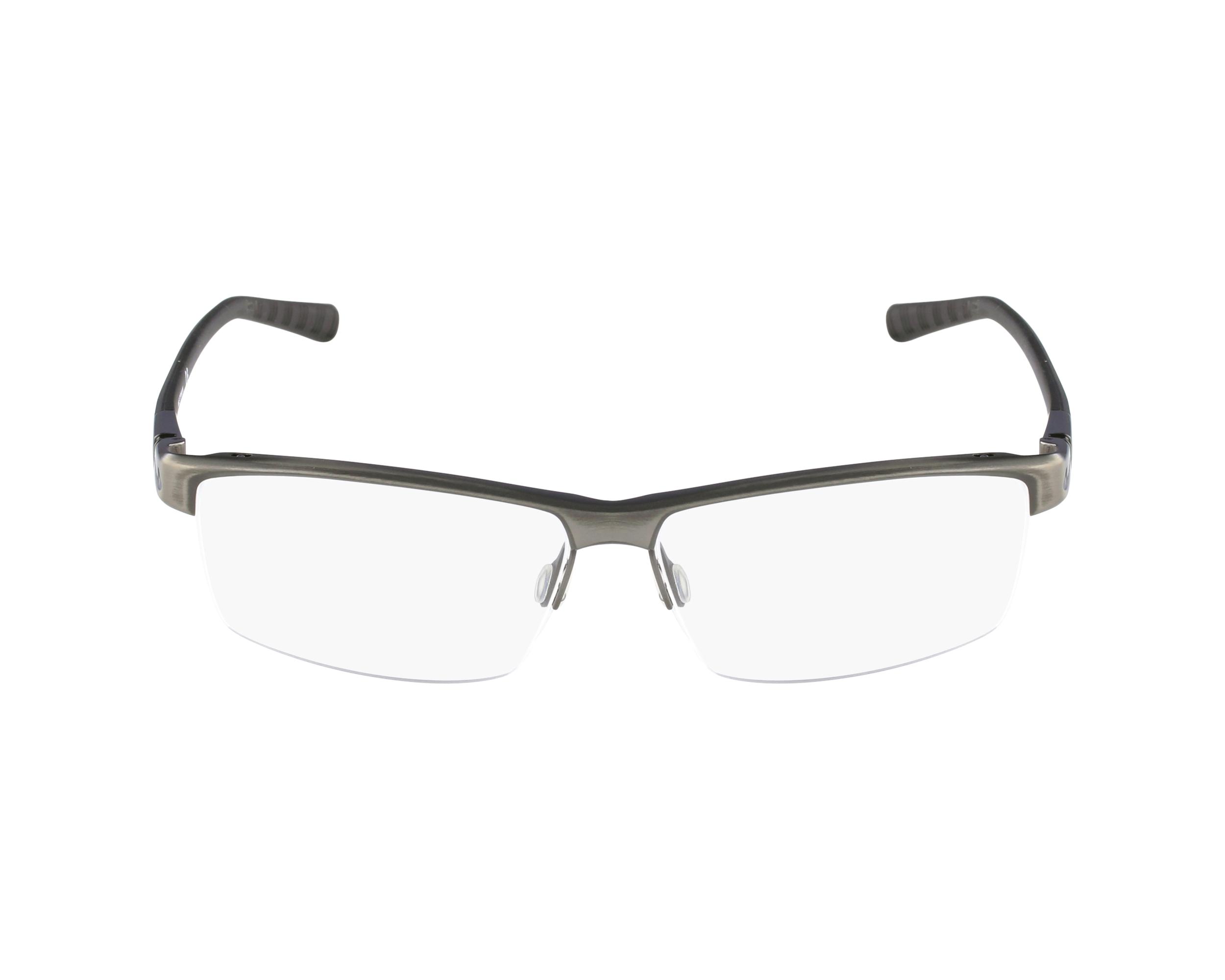 nike eyeglasses 6050 068 grey visionet. Black Bedroom Furniture Sets. Home Design Ideas