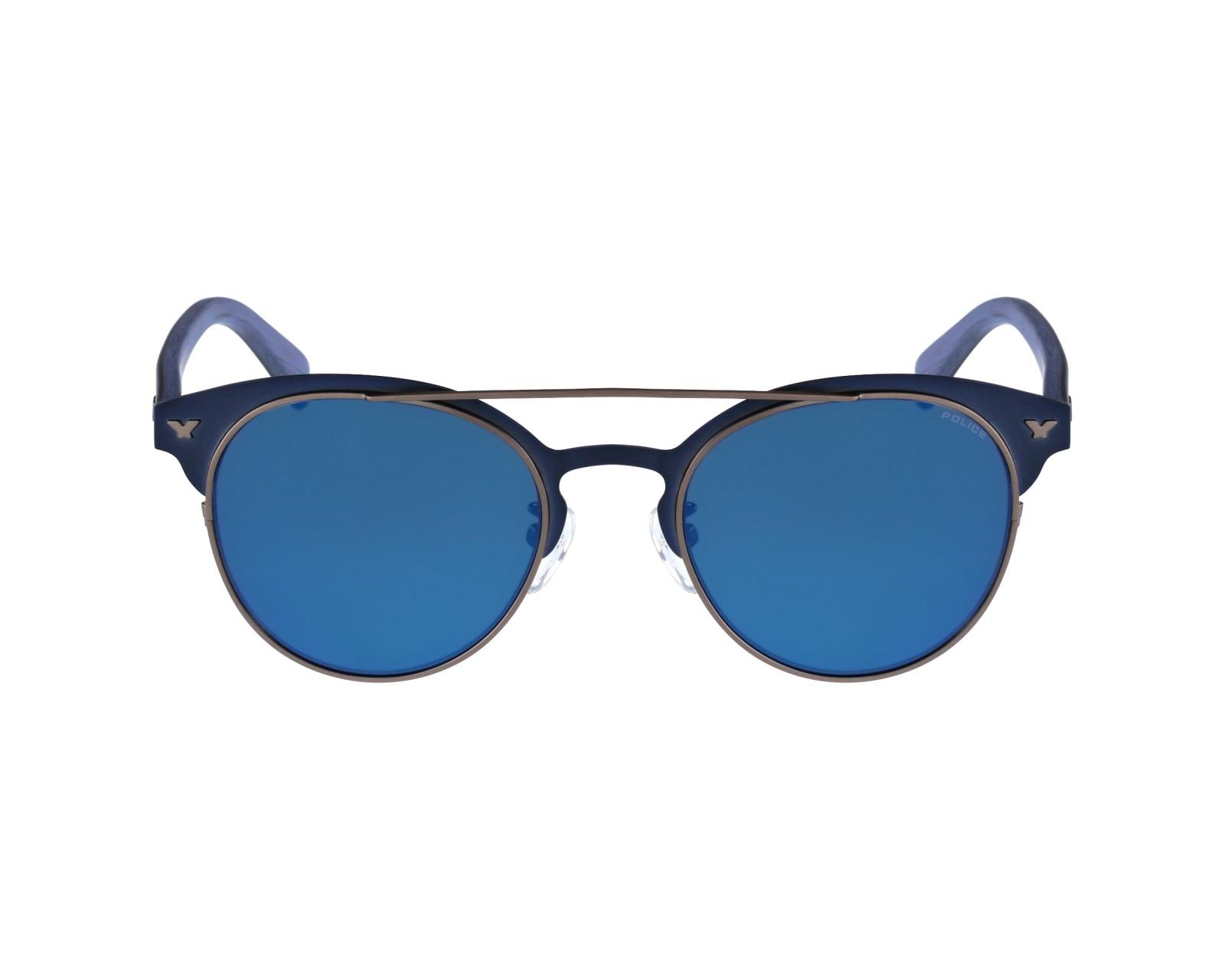 lunettes de soleil police s 8950 8ktb bleu visionet. Black Bedroom Furniture Sets. Home Design Ideas