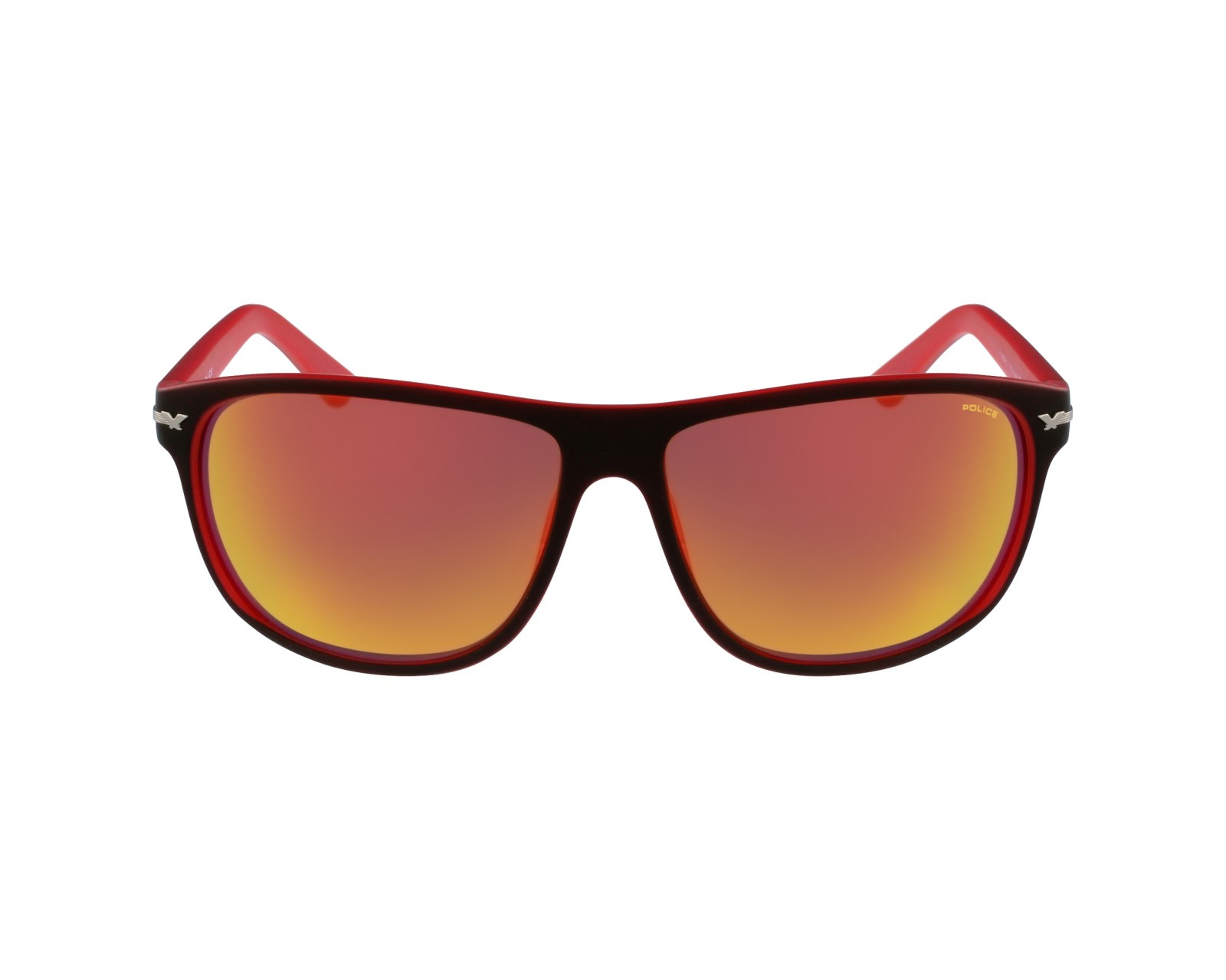 lunettes de soleil police s 1958 nvbr noir avec des verres gris vert pour hommes. Black Bedroom Furniture Sets. Home Design Ideas