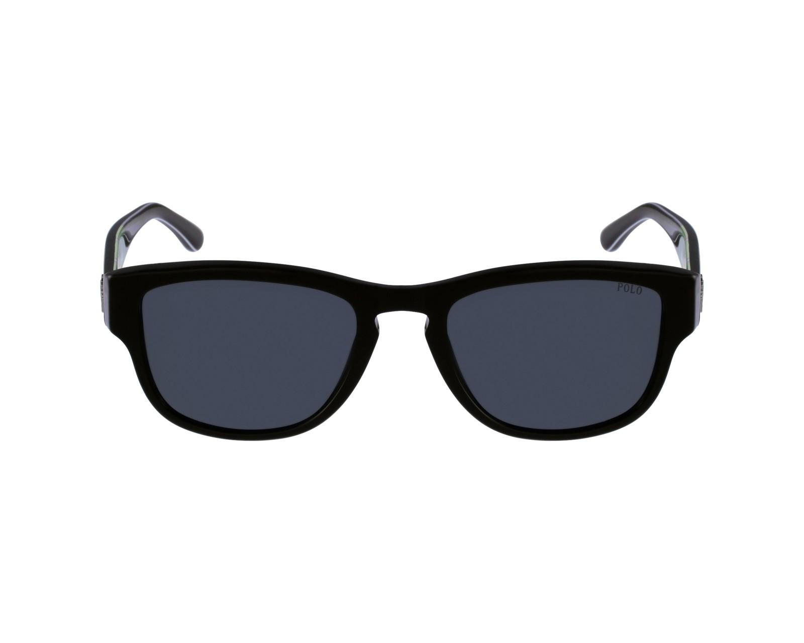 37bda8b2c538 lunettes de soleil polo ralph lauren ph 4086 545587 noir avec des verres  gris pour hommes