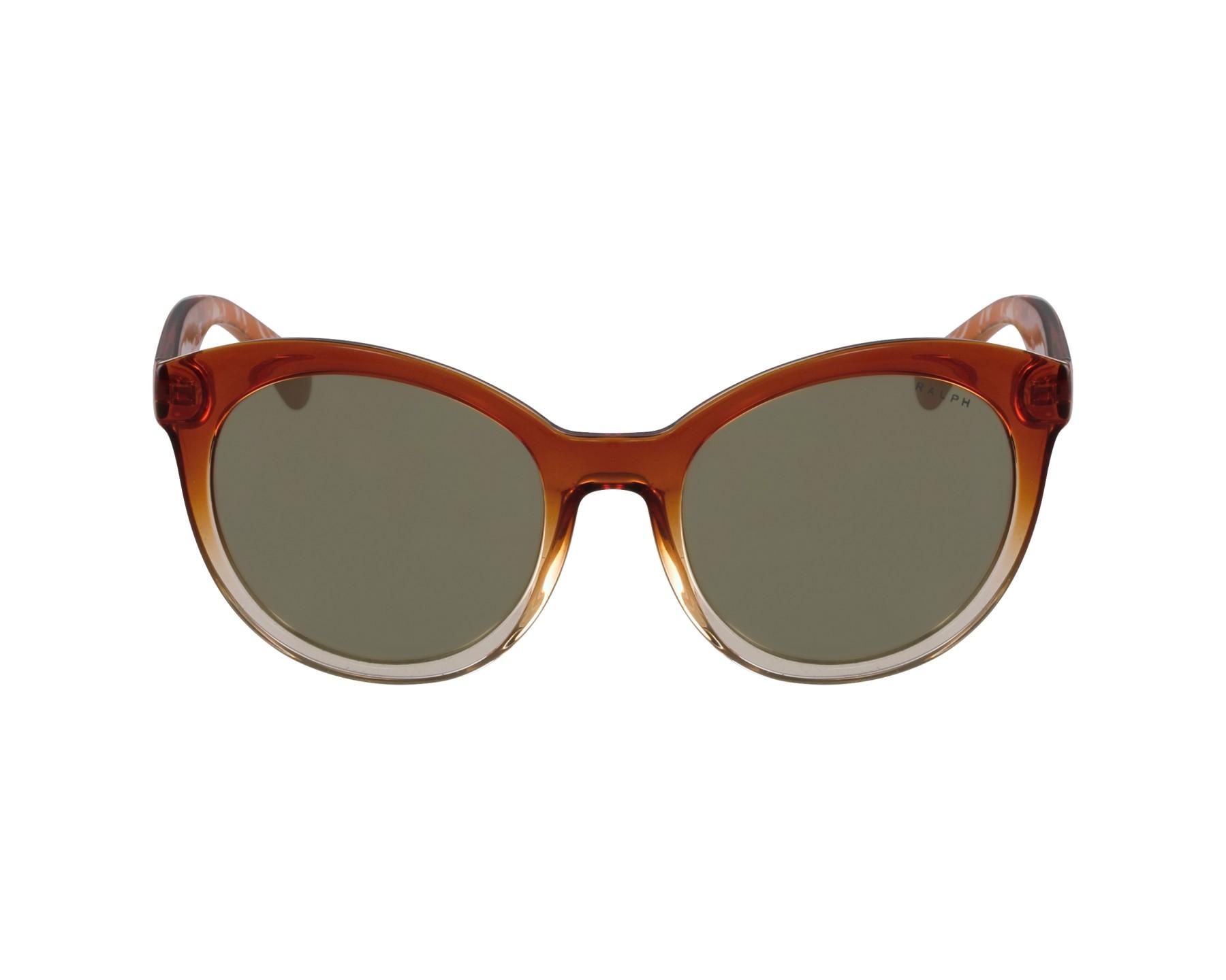 lunettes de soleil ralph by ralph lauren ra 5211 15156f marron avec des verres gris pour femmes. Black Bedroom Furniture Sets. Home Design Ideas