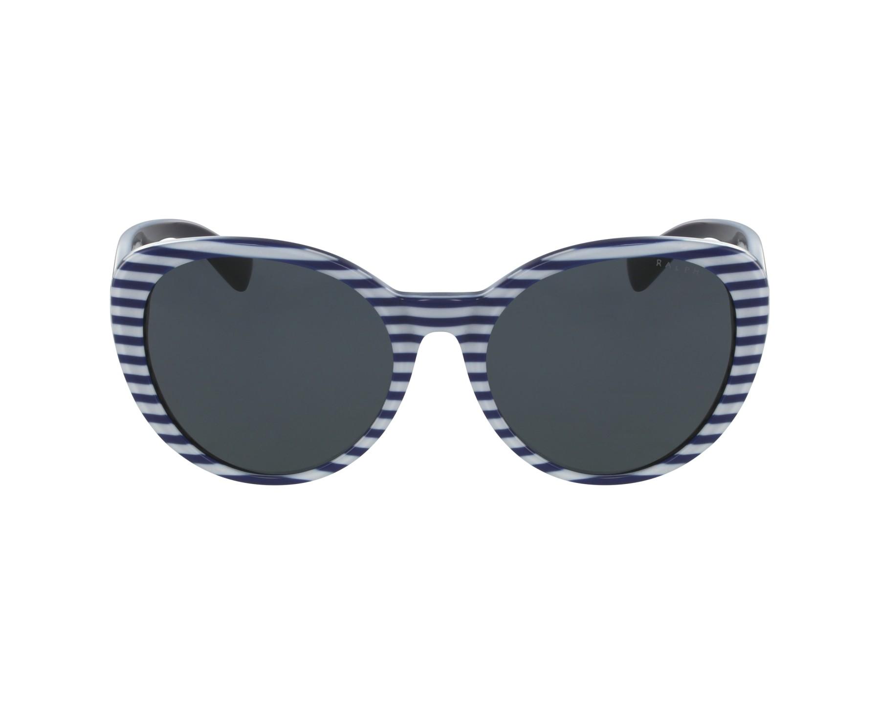 Lunettes de soleil ralph by ralph lauren ra 5212 315887 bleu avec des verres gris - Verre lunette raye assurance ...