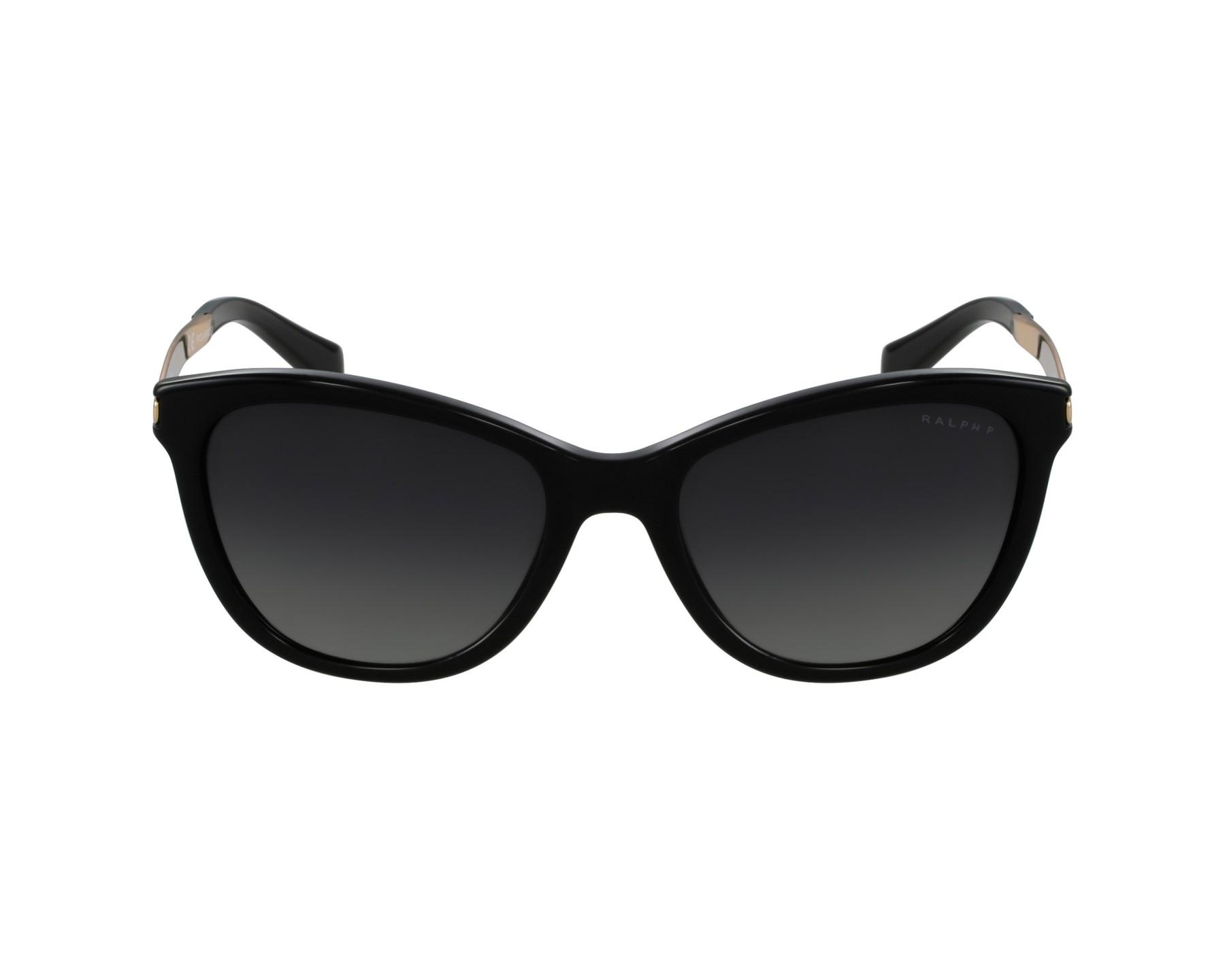 lunettes de soleil ralph lauren ra 5201 1265 t3 noir avec des verres gris. Black Bedroom Furniture Sets. Home Design Ideas