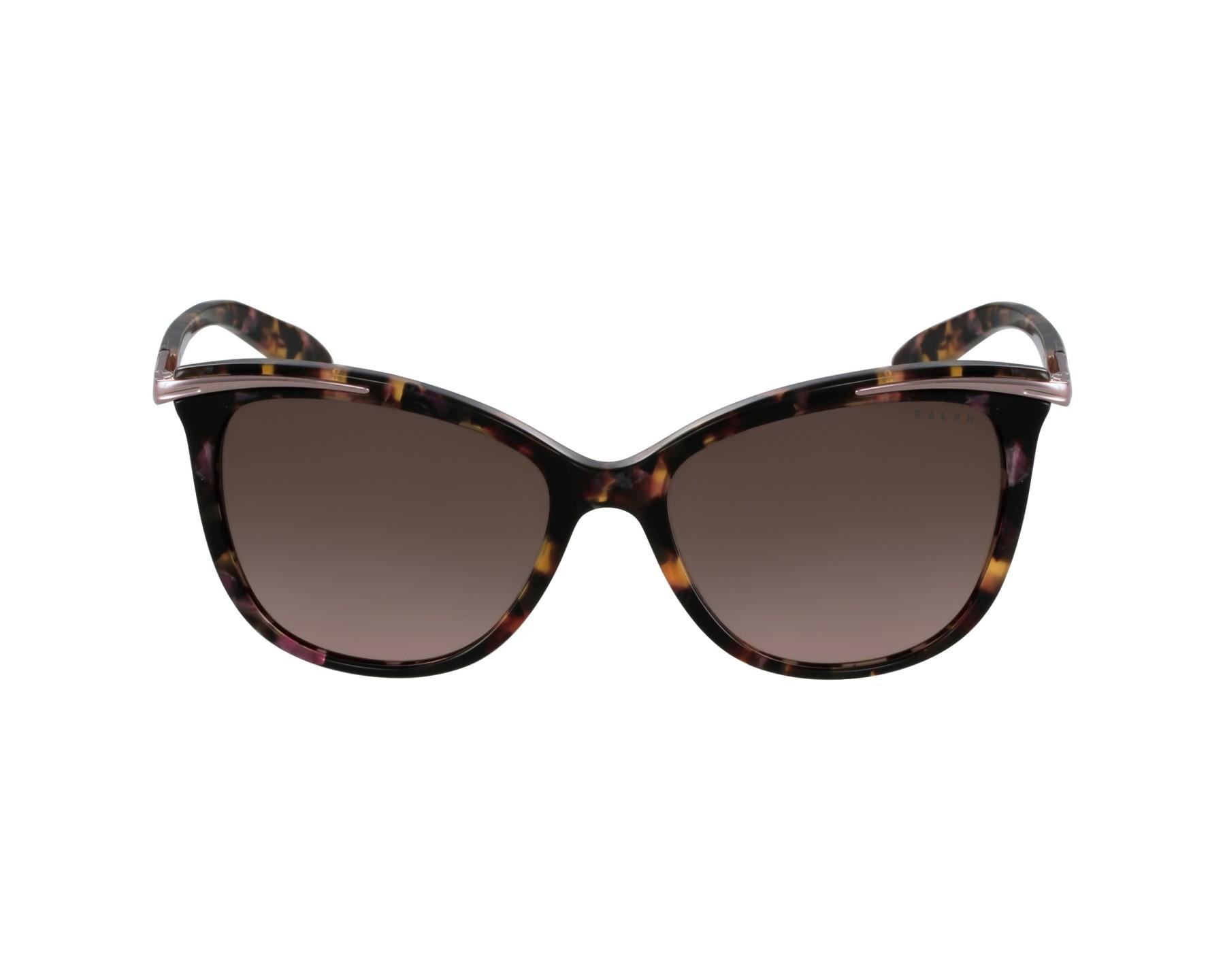 lunettes de soleil ralph lauren ra 5203 146114 rose avec des verres prune. Black Bedroom Furniture Sets. Home Design Ideas