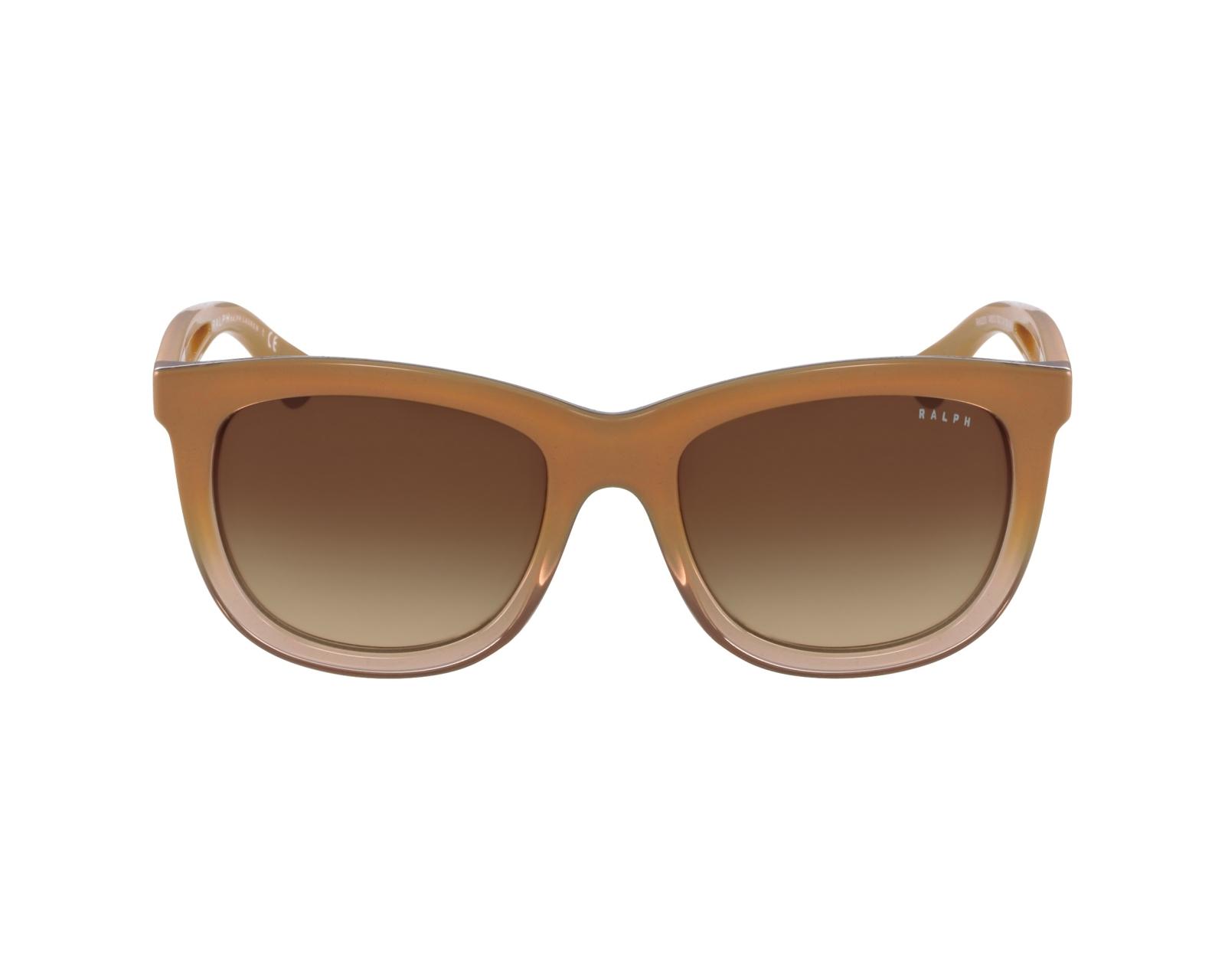 lunettes de soleil ralph lauren ra 5205 145013 marron avec. Black Bedroom Furniture Sets. Home Design Ideas