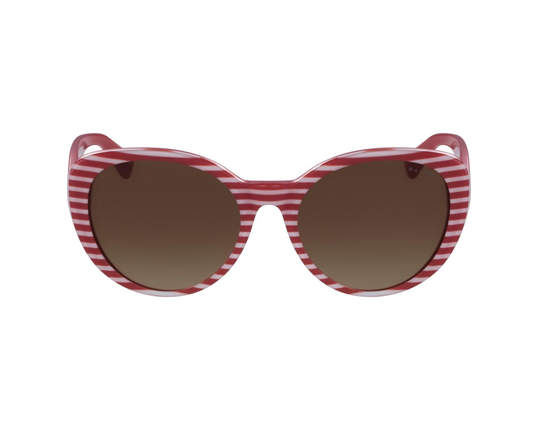 Lunettes de soleil ralph lauren ra 5212 315913 rouge avec des verres marron - Verre lunette raye assurance ...