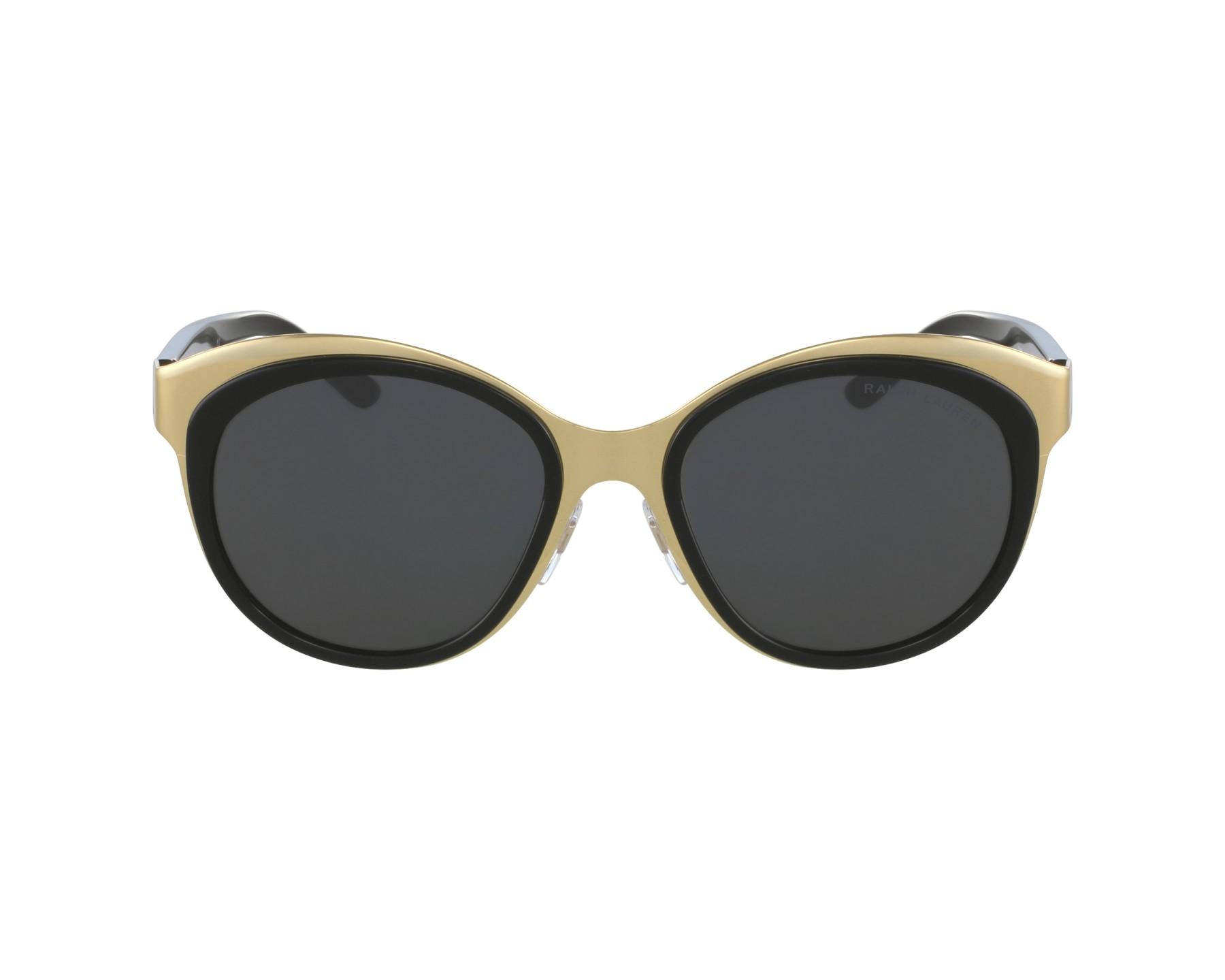 lunettes de soleil ralph lauren rl 7051 9004 87 or avec des verres gris. Black Bedroom Furniture Sets. Home Design Ideas