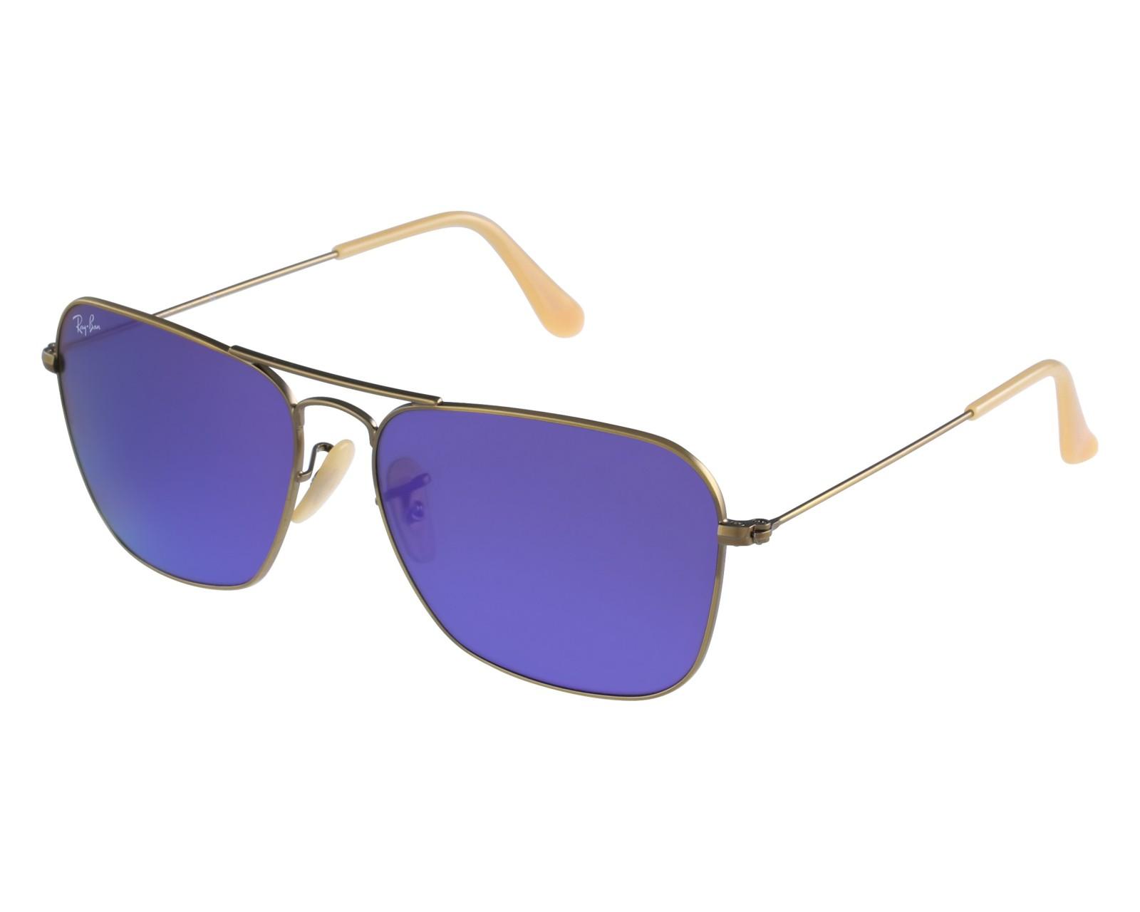 lunettes de soleil caravan de ban en rb 3136 167 1m