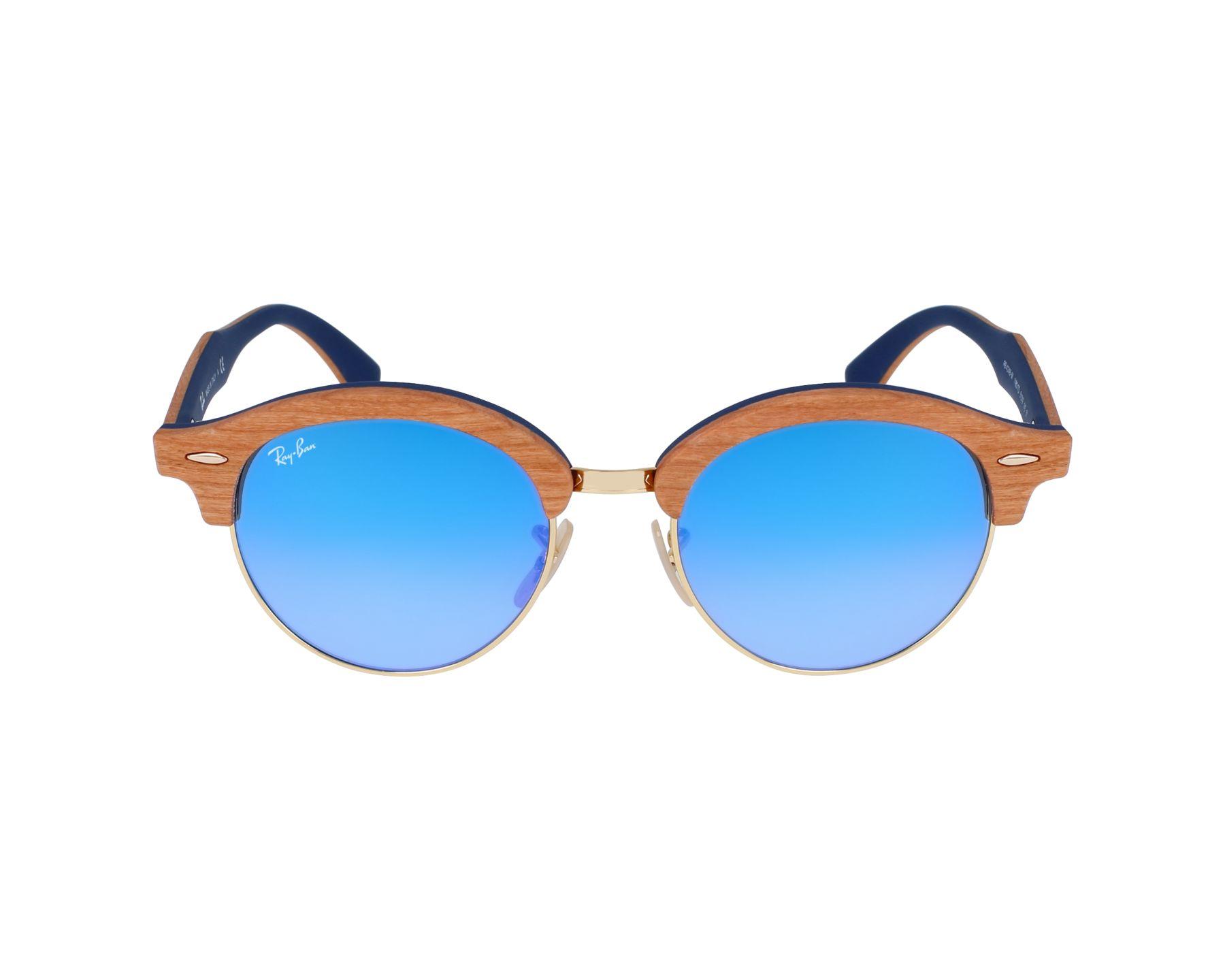 lunettes de soleil ray ban rb 4246 m 11807q marron avec des verres gris marron. Black Bedroom Furniture Sets. Home Design Ideas