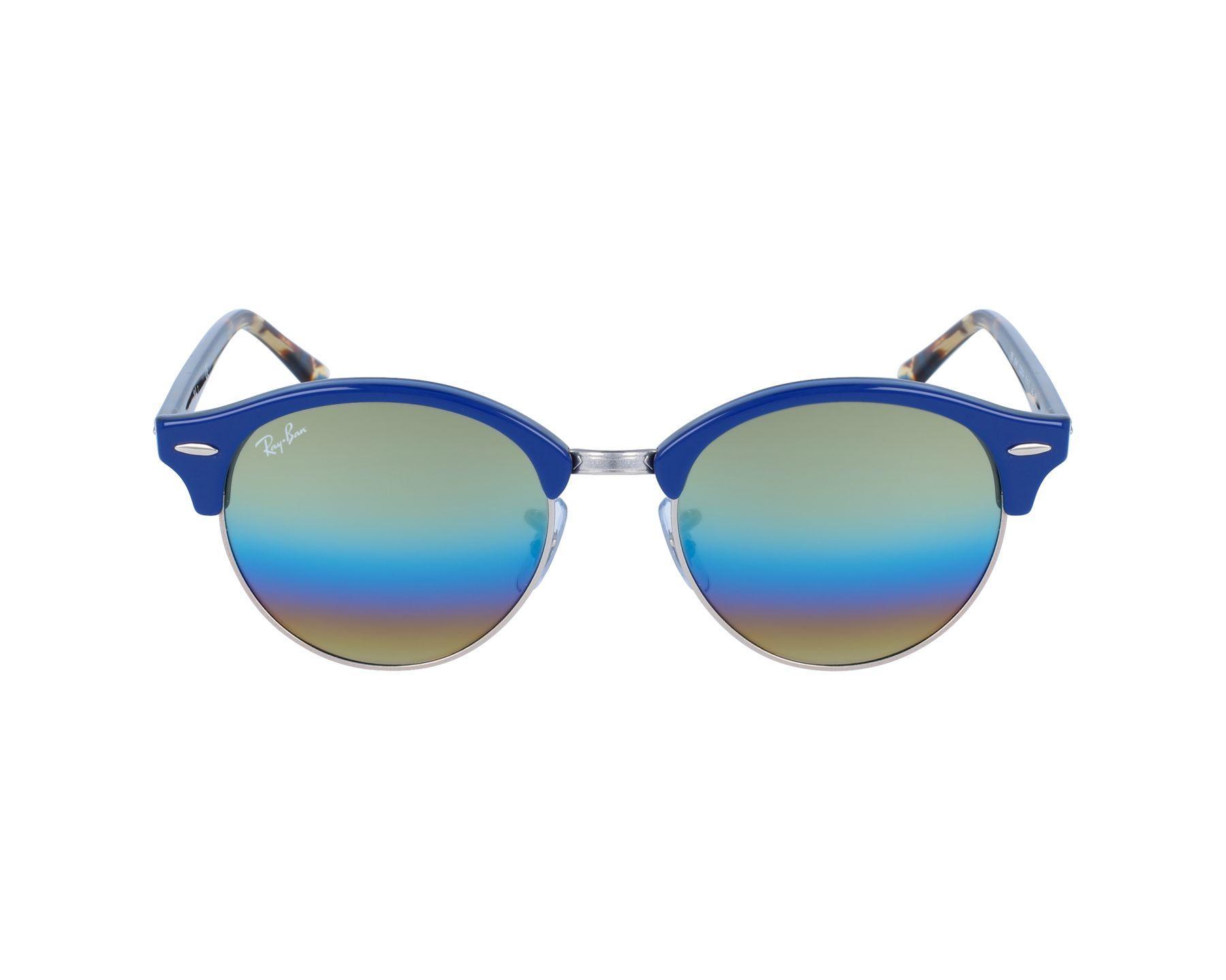 lunettes de soleil ray ban rb 4246 1223 c4 bleu pas cher visionet. Black Bedroom Furniture Sets. Home Design Ideas