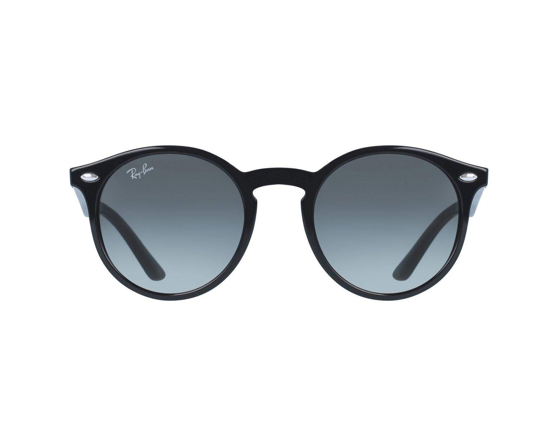 Lunettes de soleil ray ban rj 9064 s 100 11 noir avec des verres gris pour mixte - Verre lunette raye assurance ...