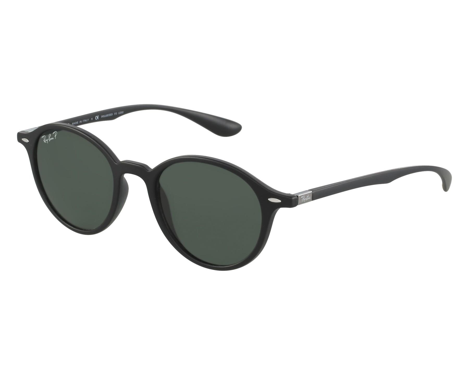 lunettes de soleil ray ban rb 4237 601s58 noir avec des verres gris. Black Bedroom Furniture Sets. Home Design Ideas