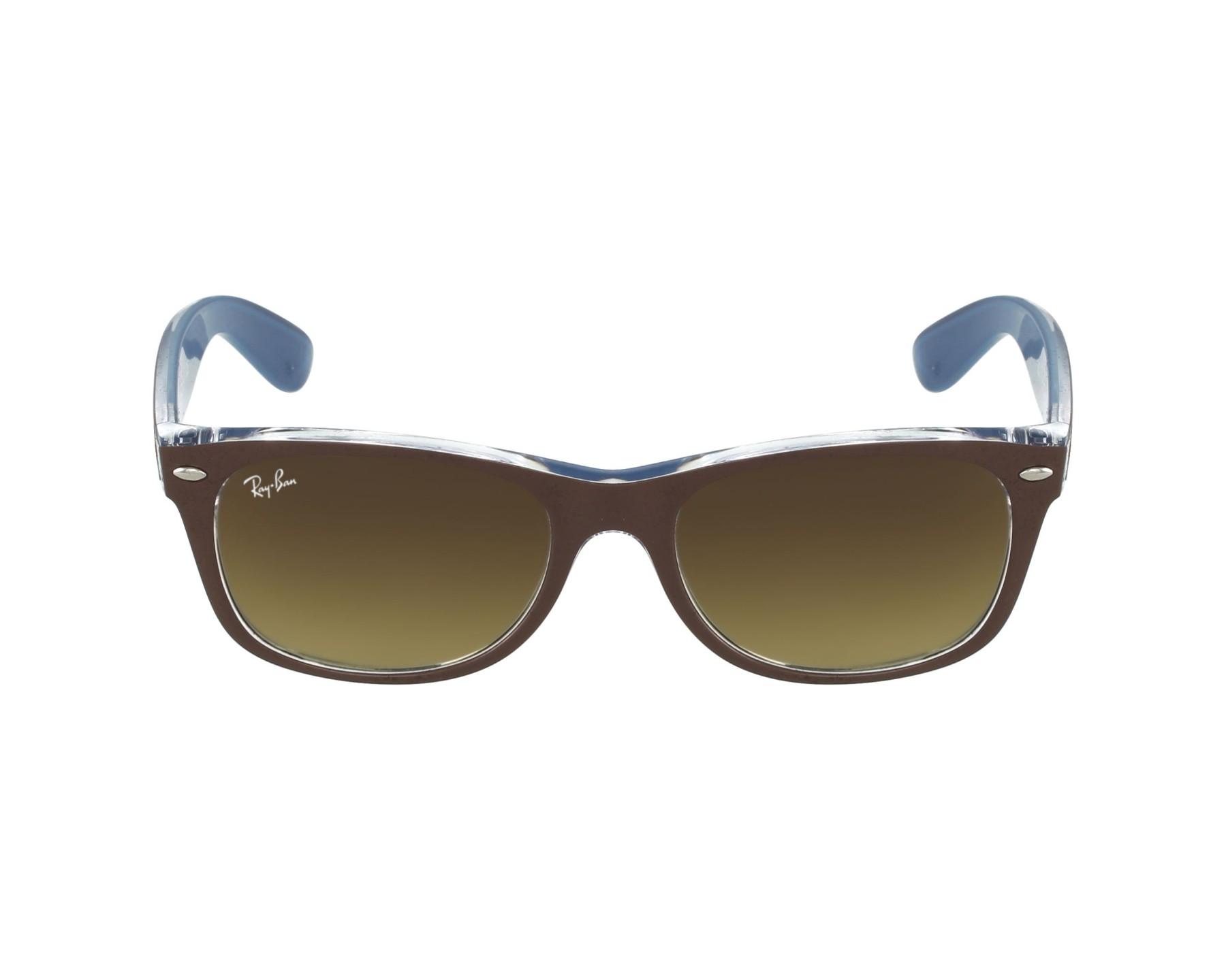 lunettes de soleil rayban rb2132 618985 marron pas cher