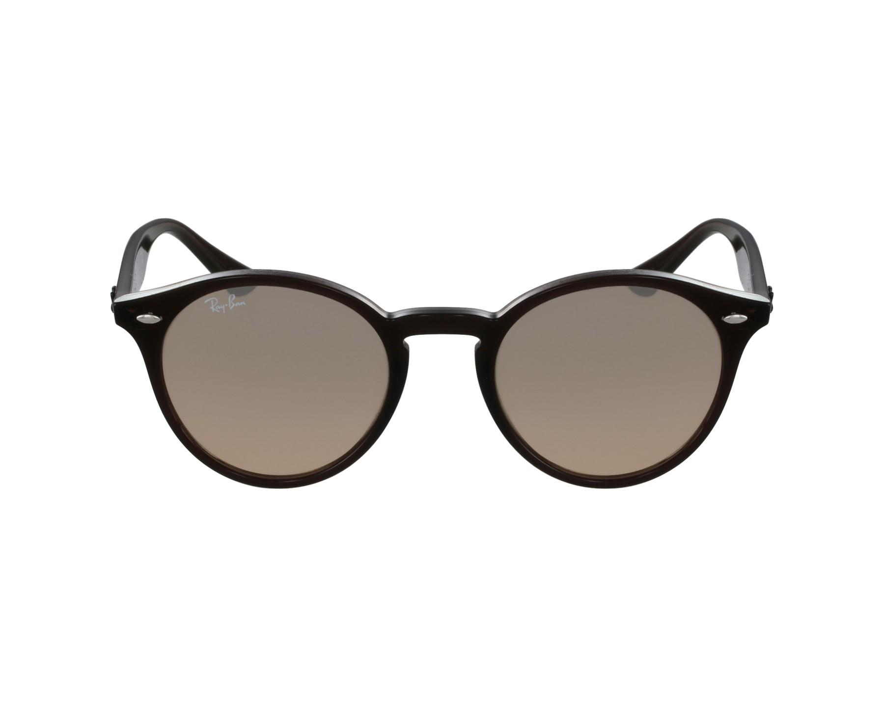 lunettes de soleil ray ban rb 2180 6231 3d marron avec des. Black Bedroom Furniture Sets. Home Design Ideas
