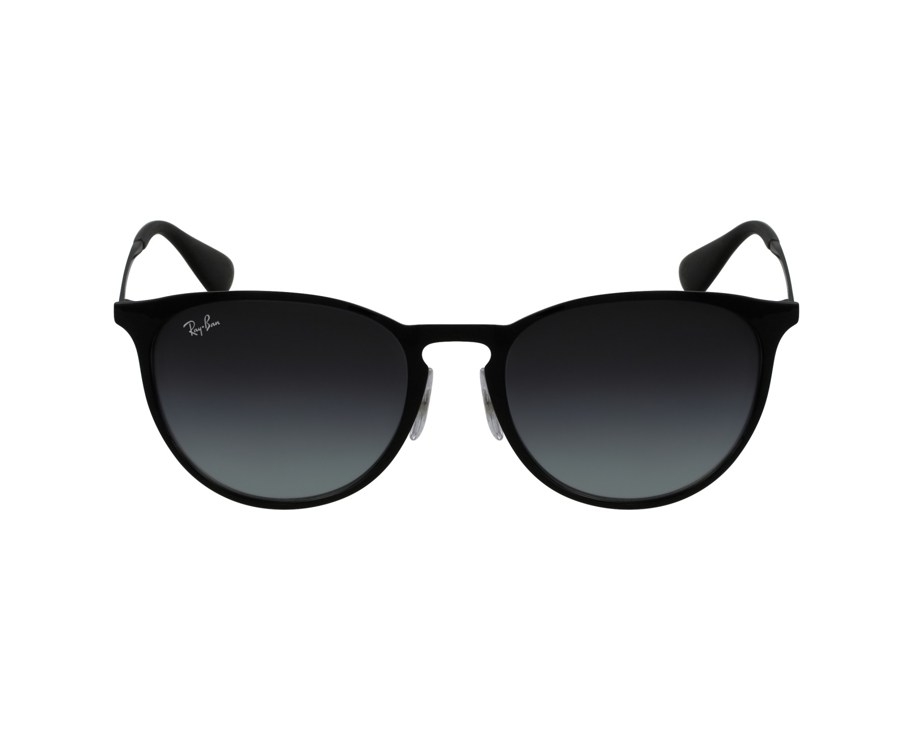 lunettes de soleil ray ban rb 3539 002 8g noir avec des verres gris. Black Bedroom Furniture Sets. Home Design Ideas