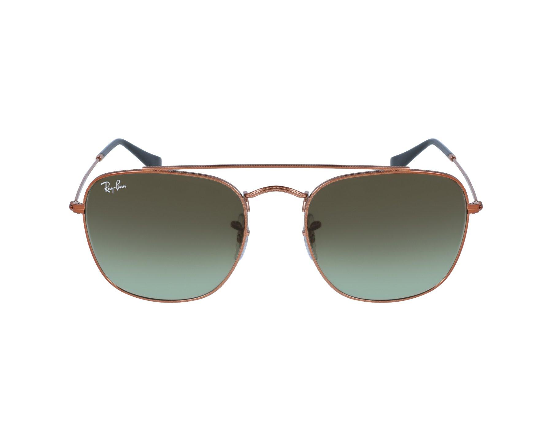 lunettes de soleil ray ban rb 3557 9002 a6 marron avec des verres marron pour mixte. Black Bedroom Furniture Sets. Home Design Ideas