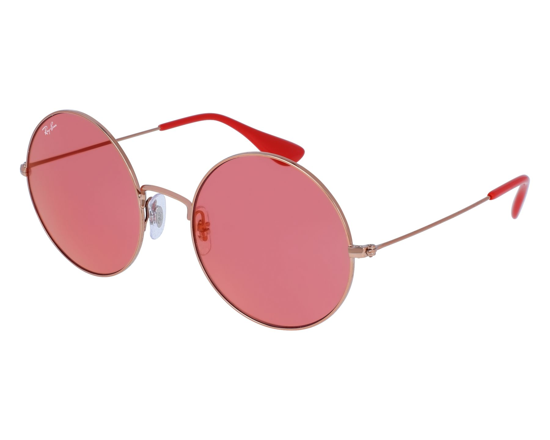 ray ban aviator verre rouge