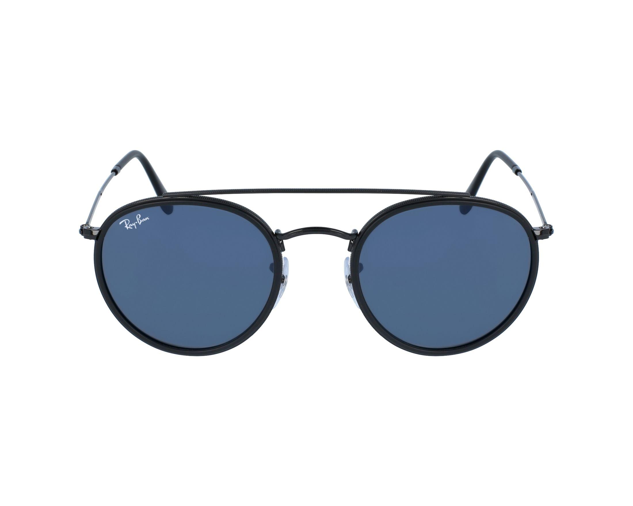 lunettes de soleil ray ban rb 3647 n 002 r5 noir avec des verres gris. Black Bedroom Furniture Sets. Home Design Ideas