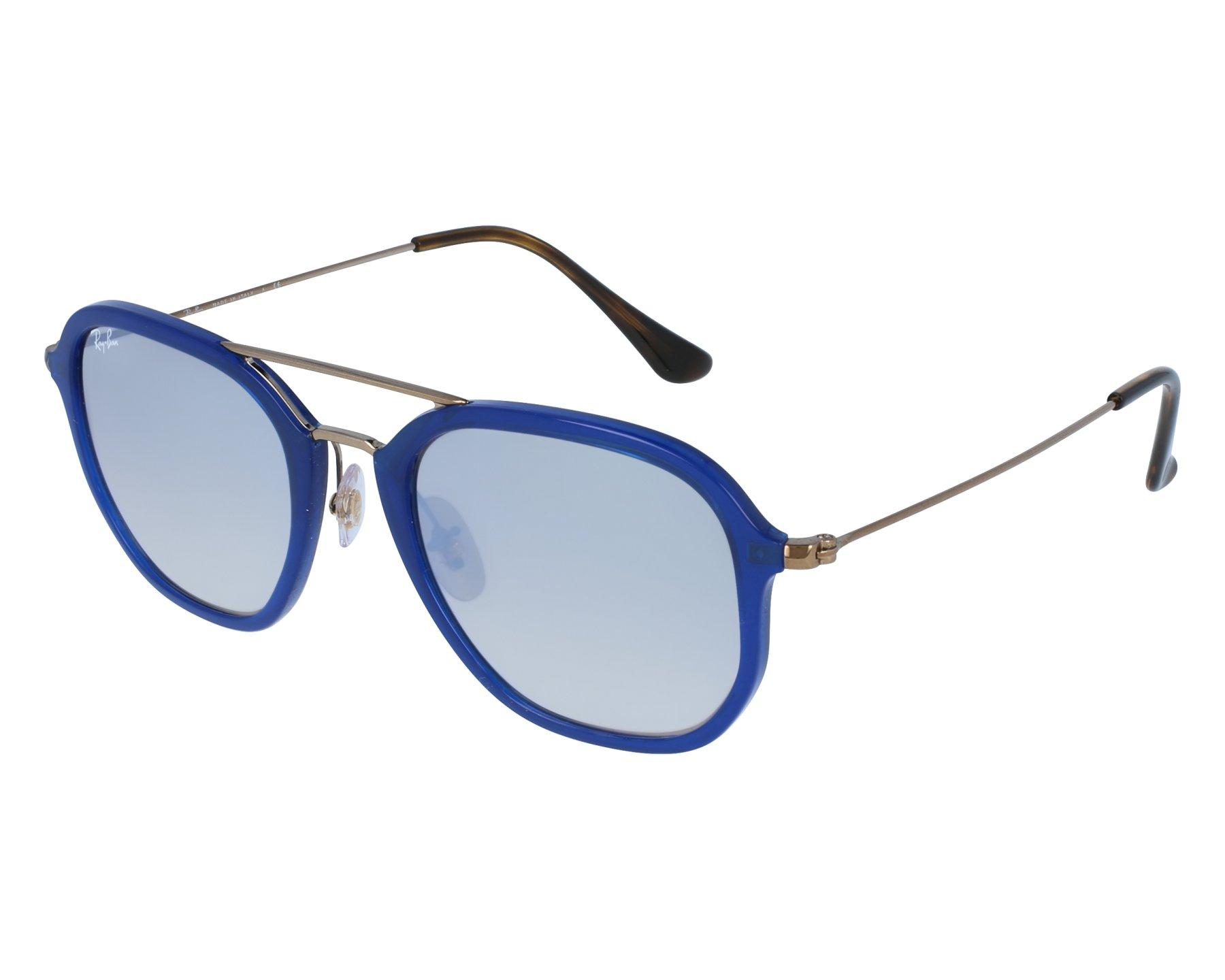 RAY BAN RAY-BAN Sonnenbrille » RB4273«, blau, 62599U - blau/silber