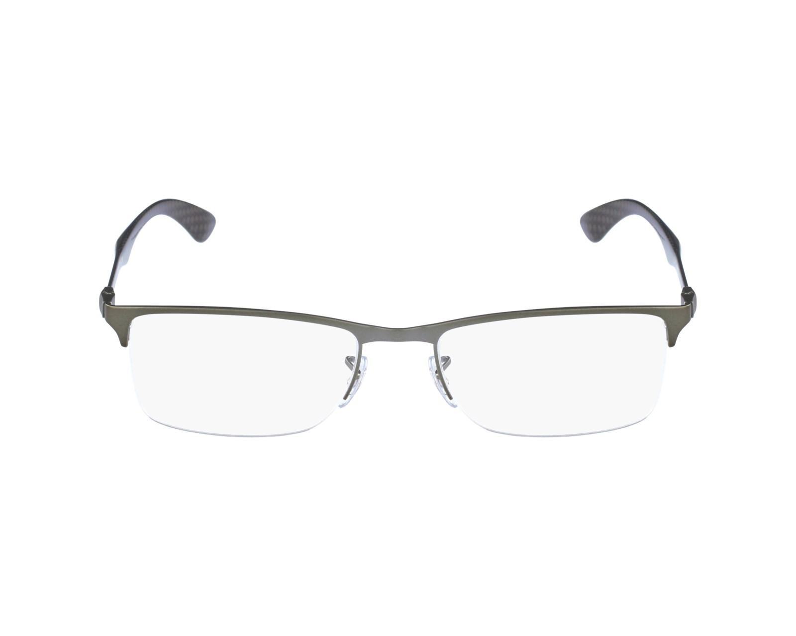 ec7d79c327 ... Free Shipping - Ottica SM Ray-Ban Eyeglasses RX-8413 2620 Silver