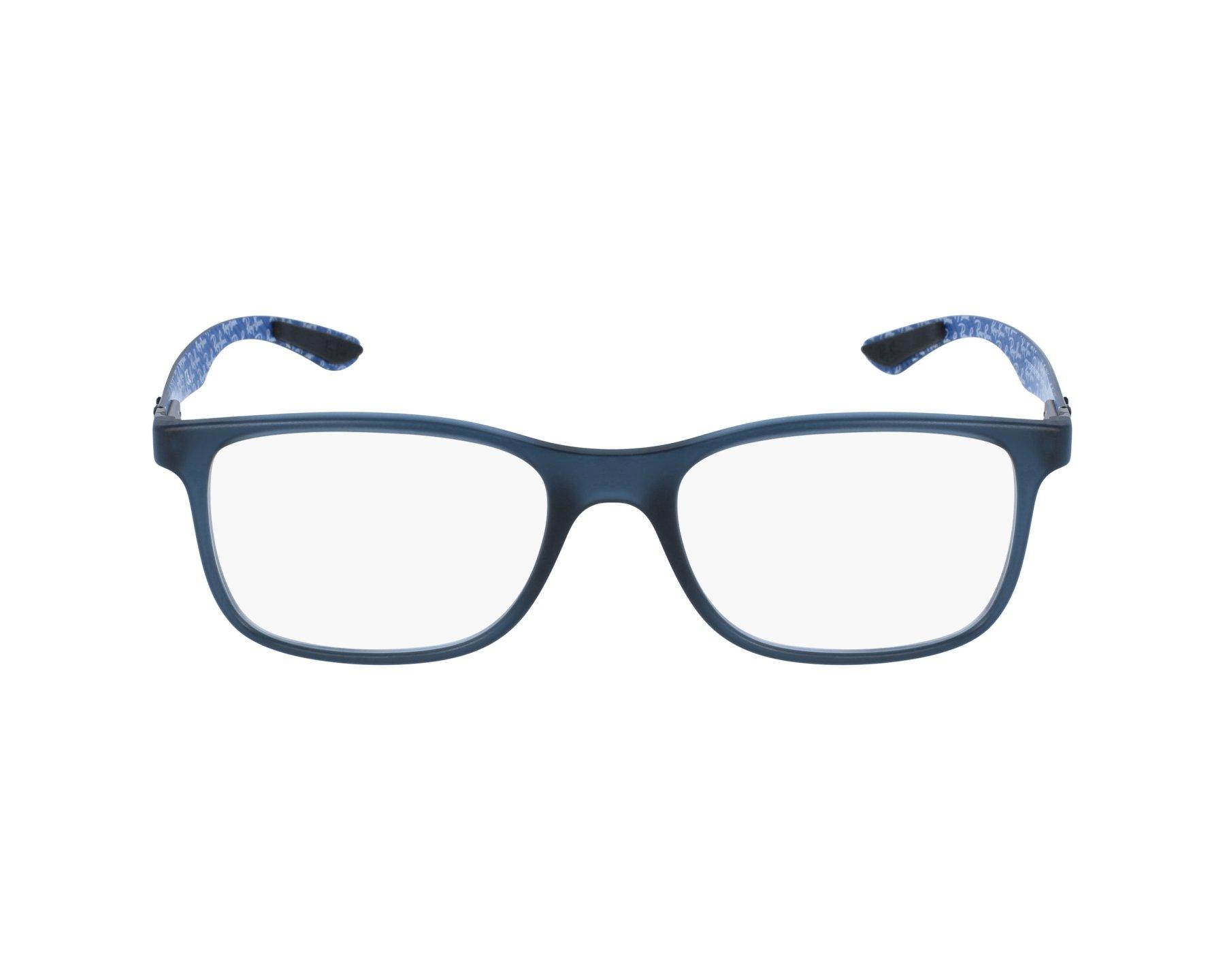 f425e0d12f Lunettes de vue Ray-Ban RX-8903 5262 53-18 Bleu Carbonne vue