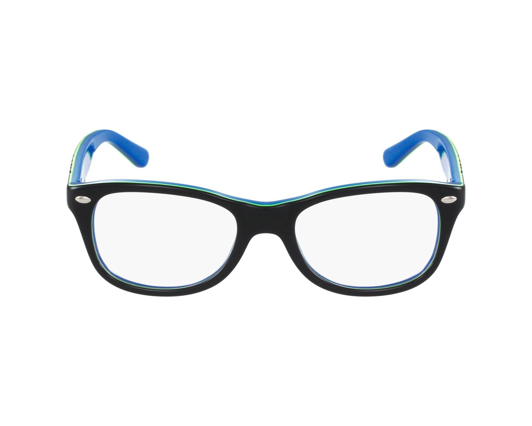43b1c976b4c27 Lunettes de vue Ray-Ban RY-1544 3600 - Bleu Vert vue de profil