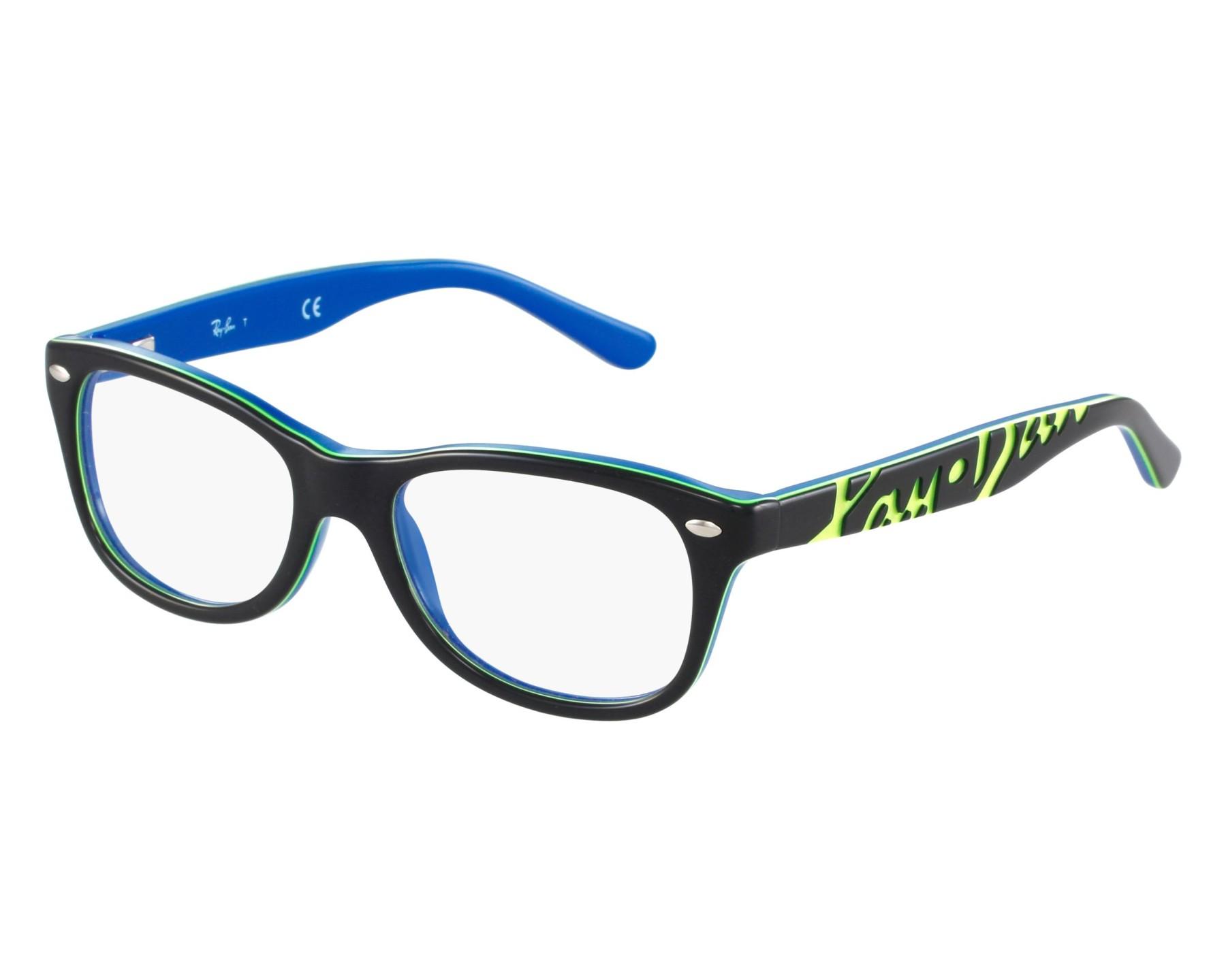 e7bcda493b3f6 Lunettes de vue Ray-Ban RY-1544 3600 - Bleu Vert vue de face