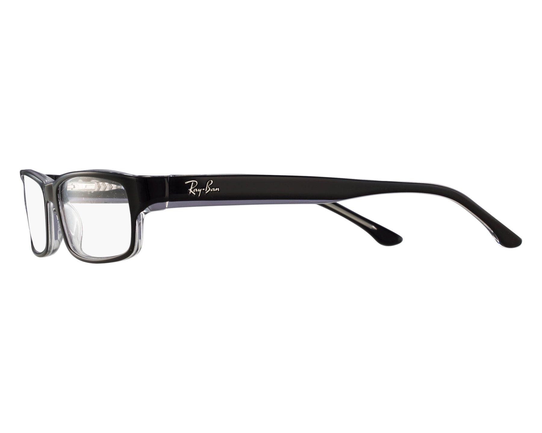 Lunettes de vue Ray-Ban RX-5114 2034 52-16 Noir vue de 5f1045658006