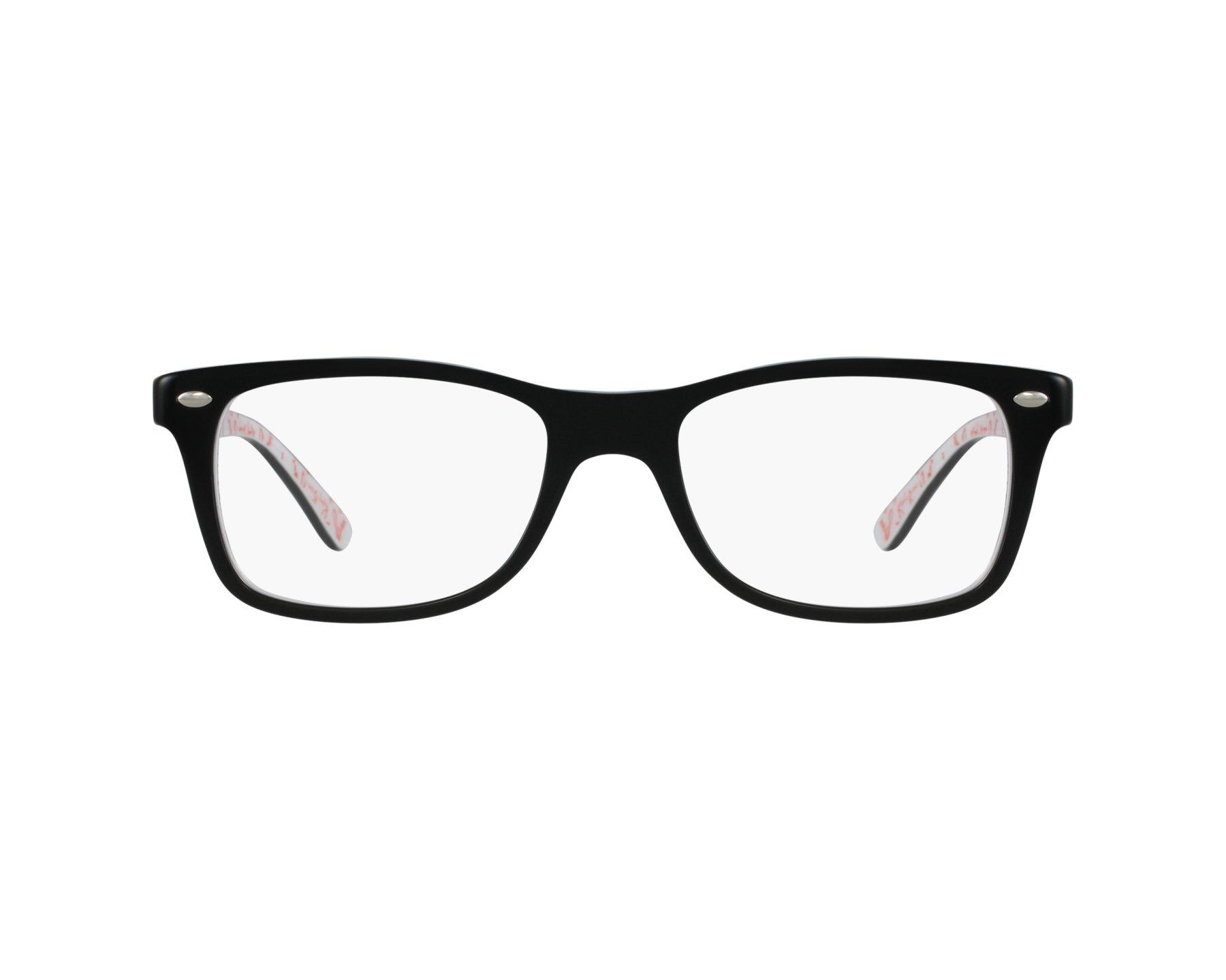 lunettes de vue ray ban rx 5228 5014 noir. Black Bedroom Furniture Sets. Home Design Ideas