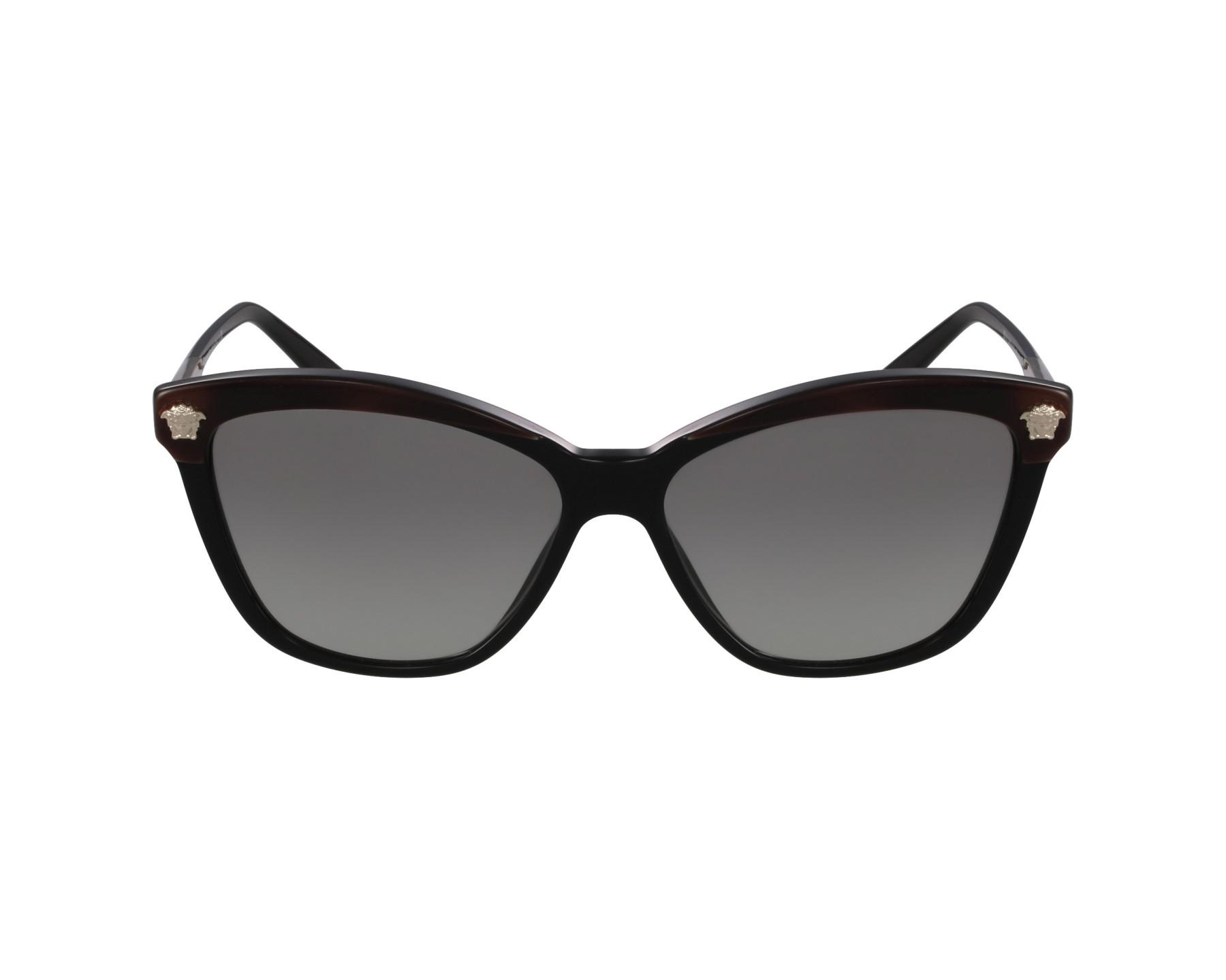 lunettes de soleil versace ve 4313 5180 11 noir visionet. Black Bedroom Furniture Sets. Home Design Ideas