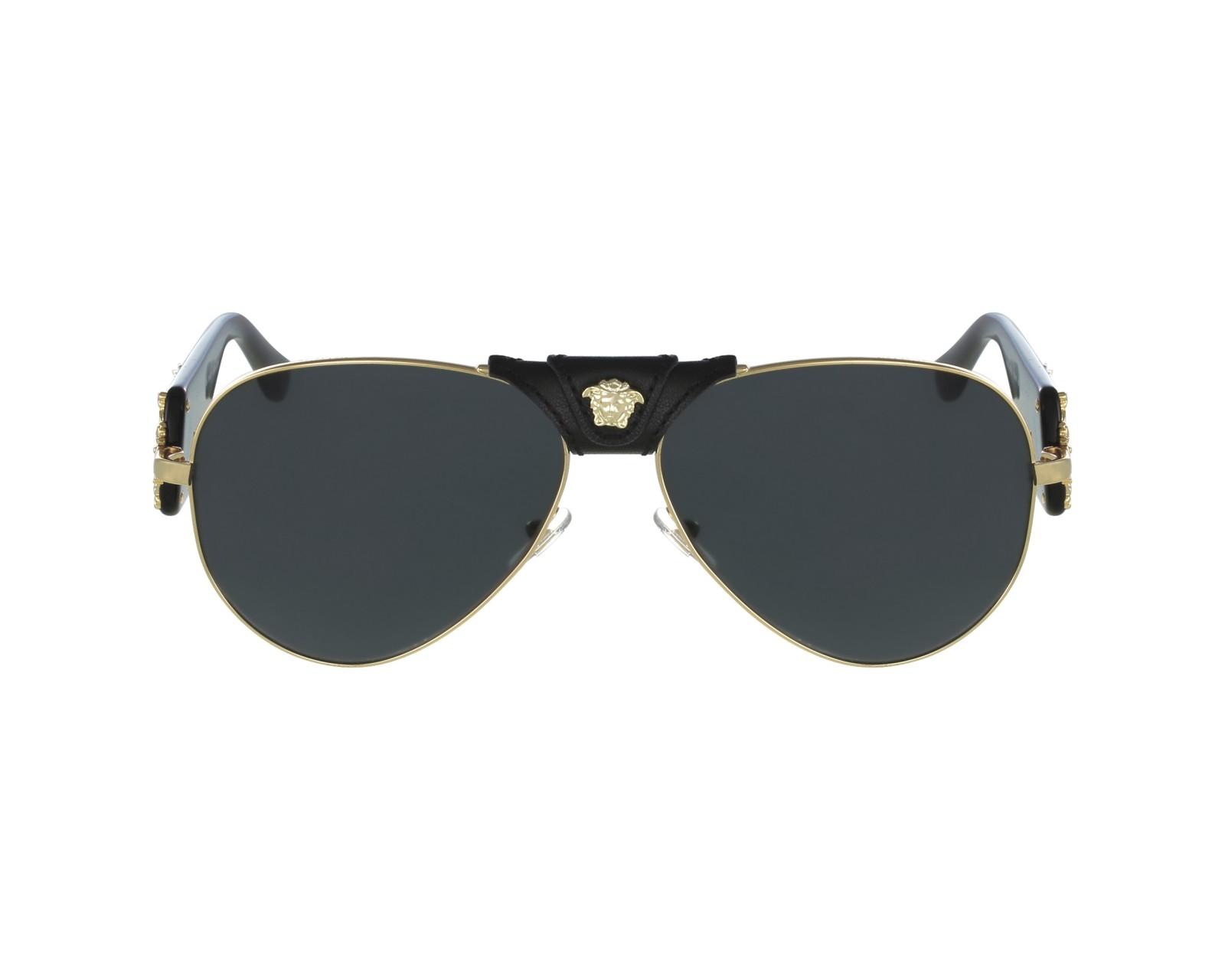 acheter des lunettes de soleil versace ve 2150 q 1002 87 visionet. Black Bedroom Furniture Sets. Home Design Ideas