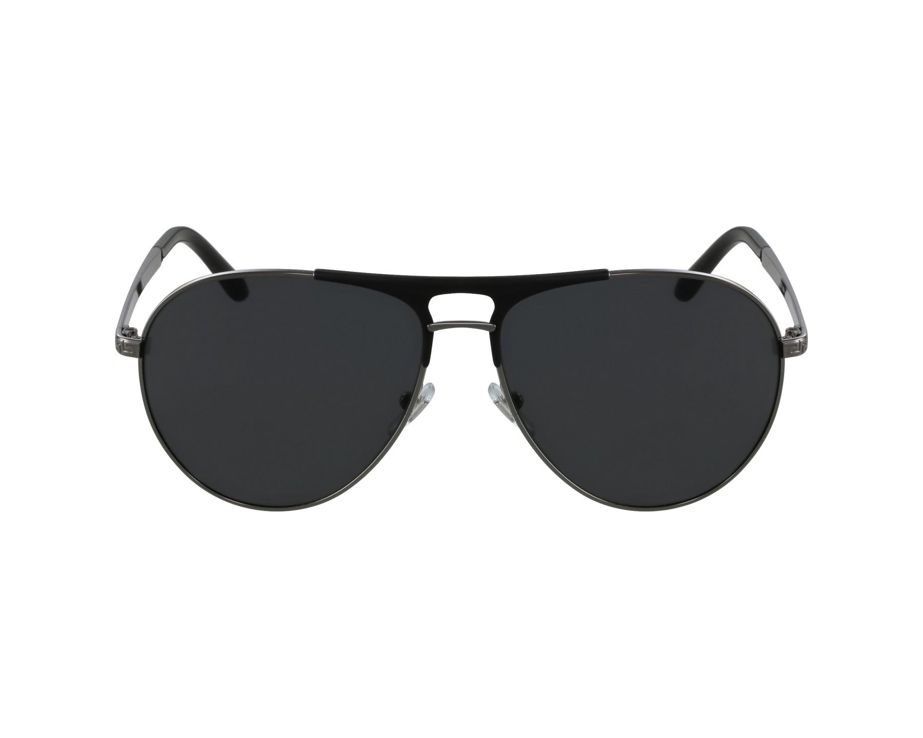 b951e8fc7577 Lunettes de soleil Versace VE-2164 1001 87 - Gunmetal Noir vue de profil