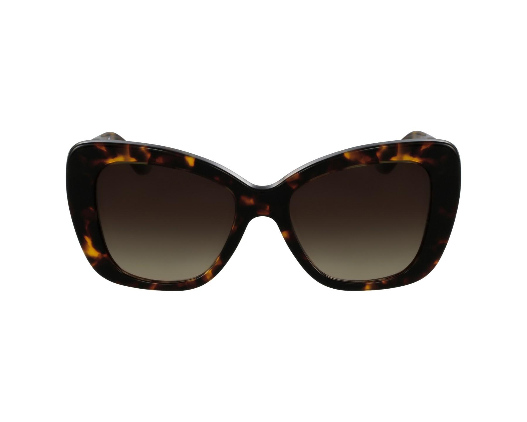 lunettes de soleil versace ve 4305 q 5148 13 havane avec des verres marron. Black Bedroom Furniture Sets. Home Design Ideas