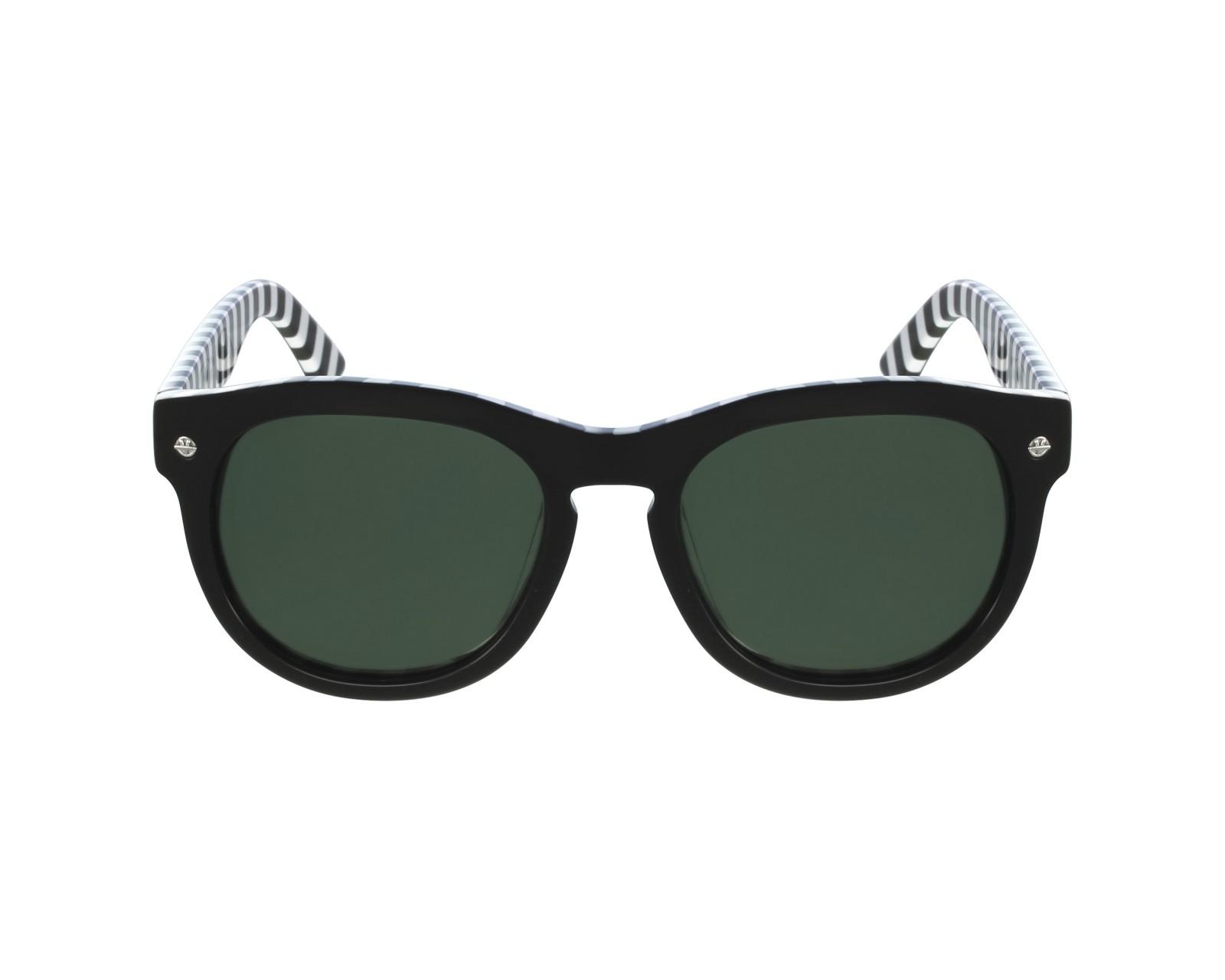 Lunettes de soleil vuarnet vl 1504 0001 noir avec des verres gris - Verre lunette raye assurance ...