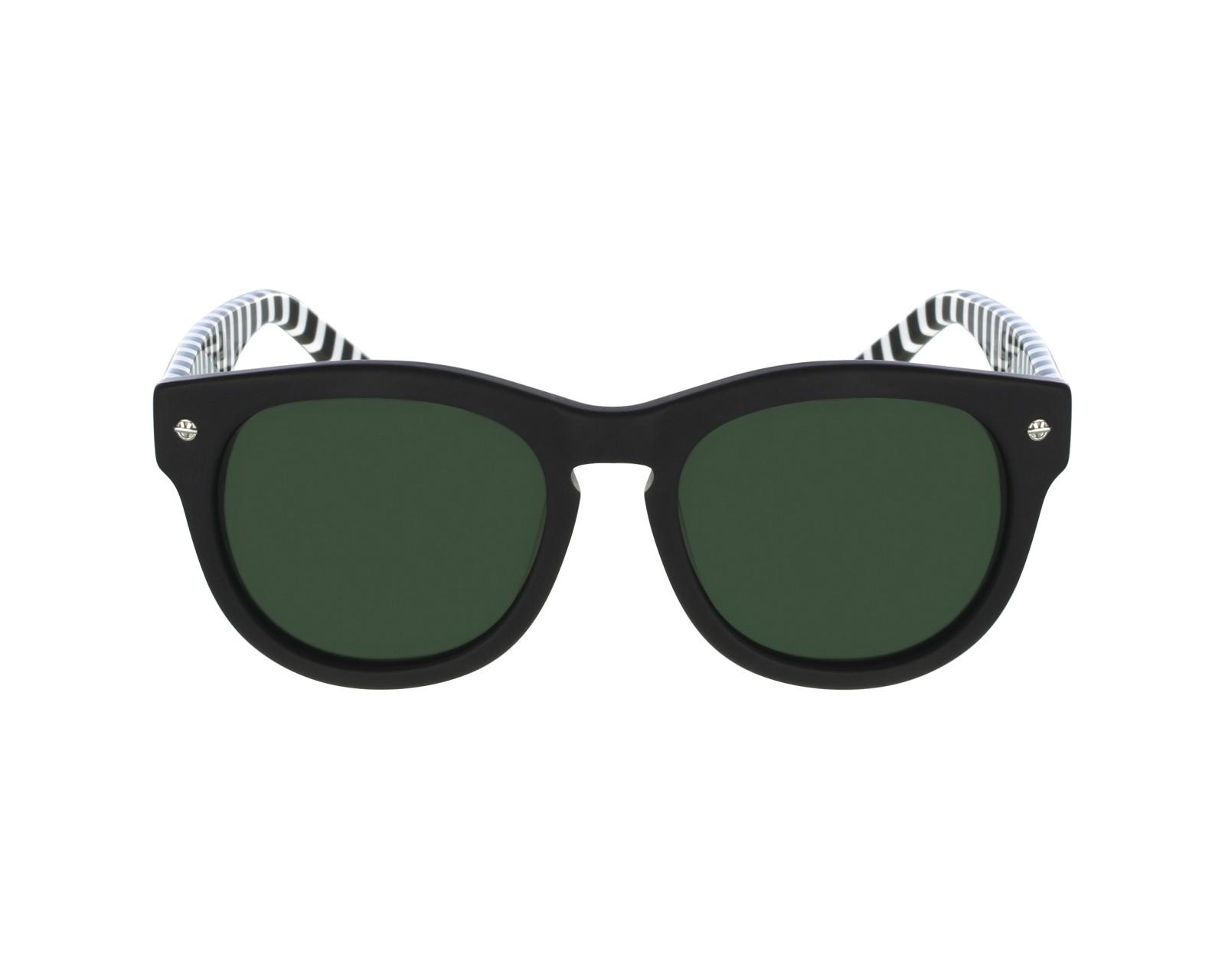 Lunettes de soleil vuarnet vl 1504 0002 noir avec des verres gris vert - Verre lunette raye assurance ...