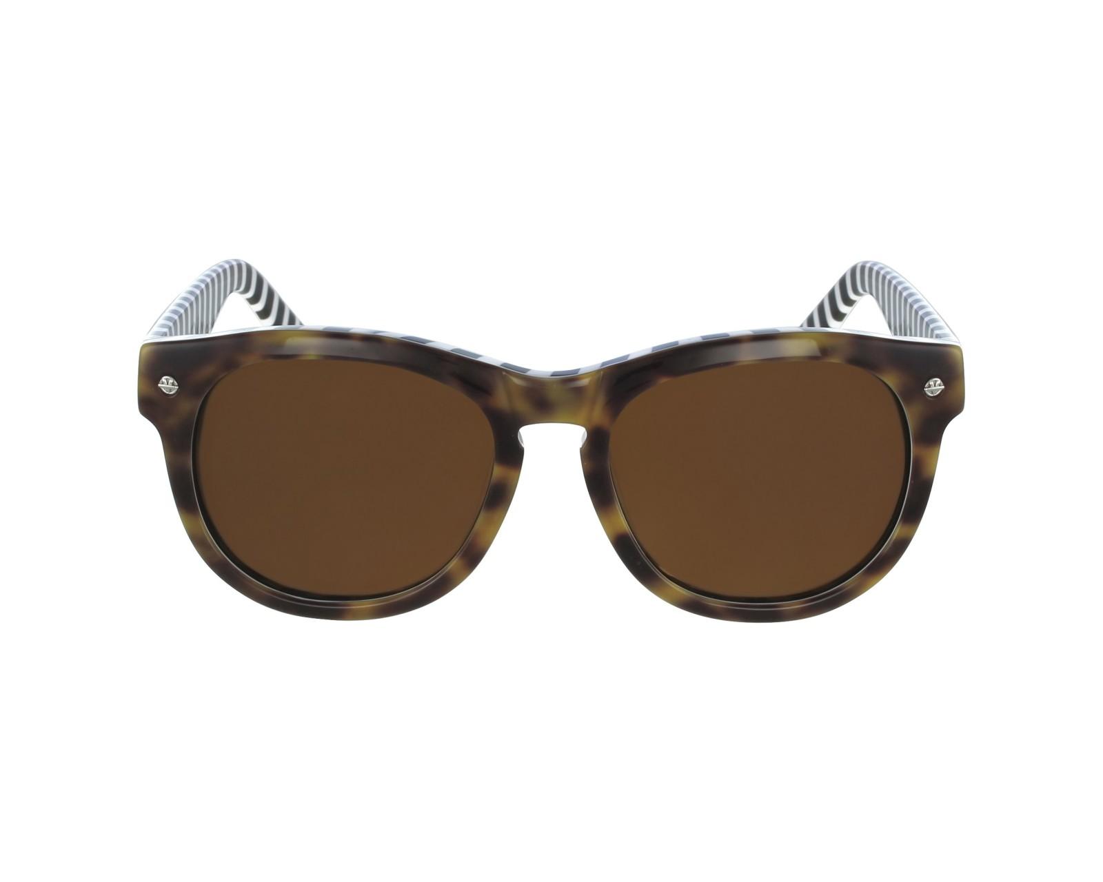 Lunettes de soleil vuarnet vl 1504 0003 havane miel avec des verres marron - Verre lunette raye assurance ...