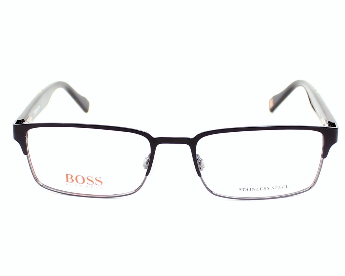 525413e390 Lunettes de vue Boss Orange BO-0136 1OJ 53-17 Noir Noir vue de